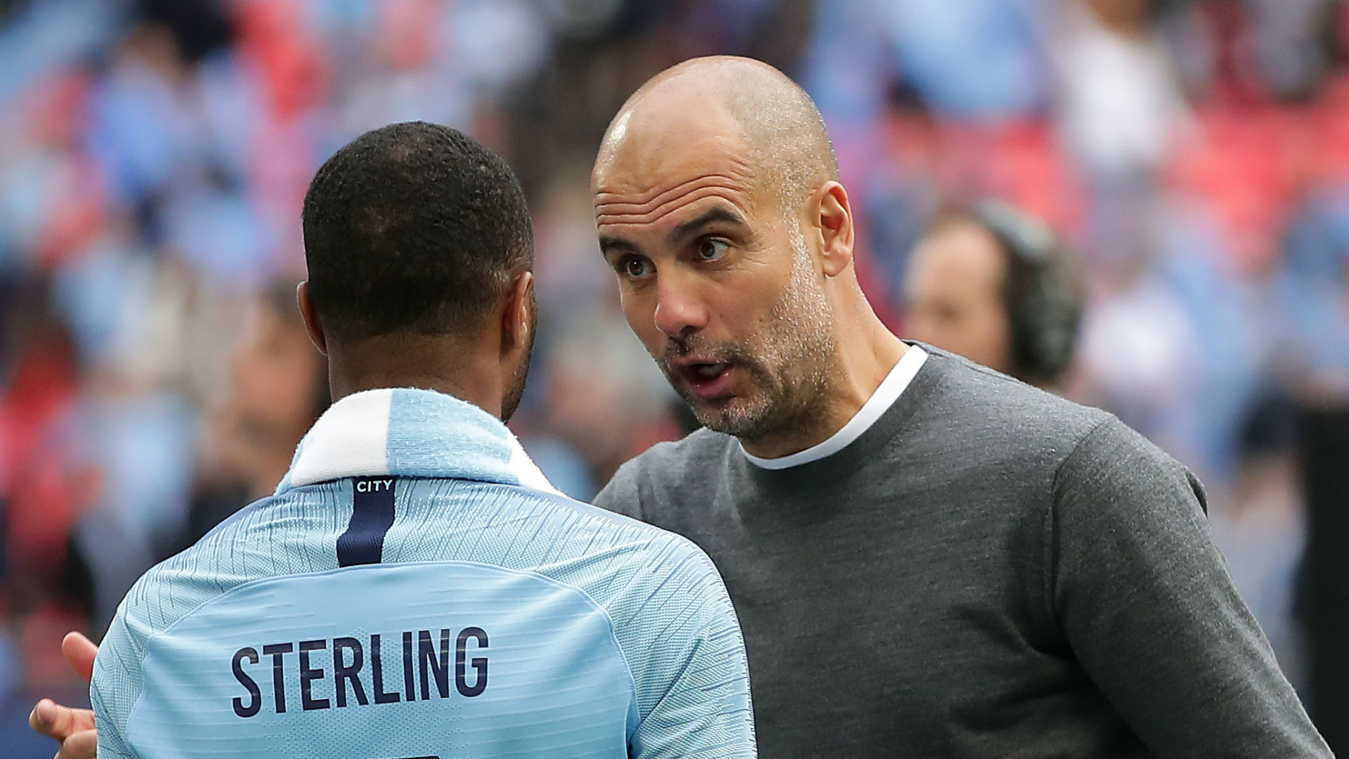 Sterling can reach same level as Messi and Ronaldo, says Man City boss Guardiola