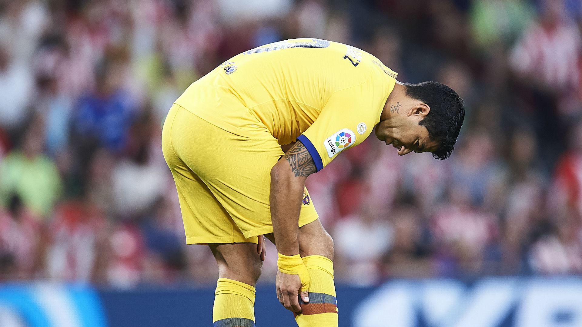 Suarez returns for Barcelona but Umtiti set to miss six weeks