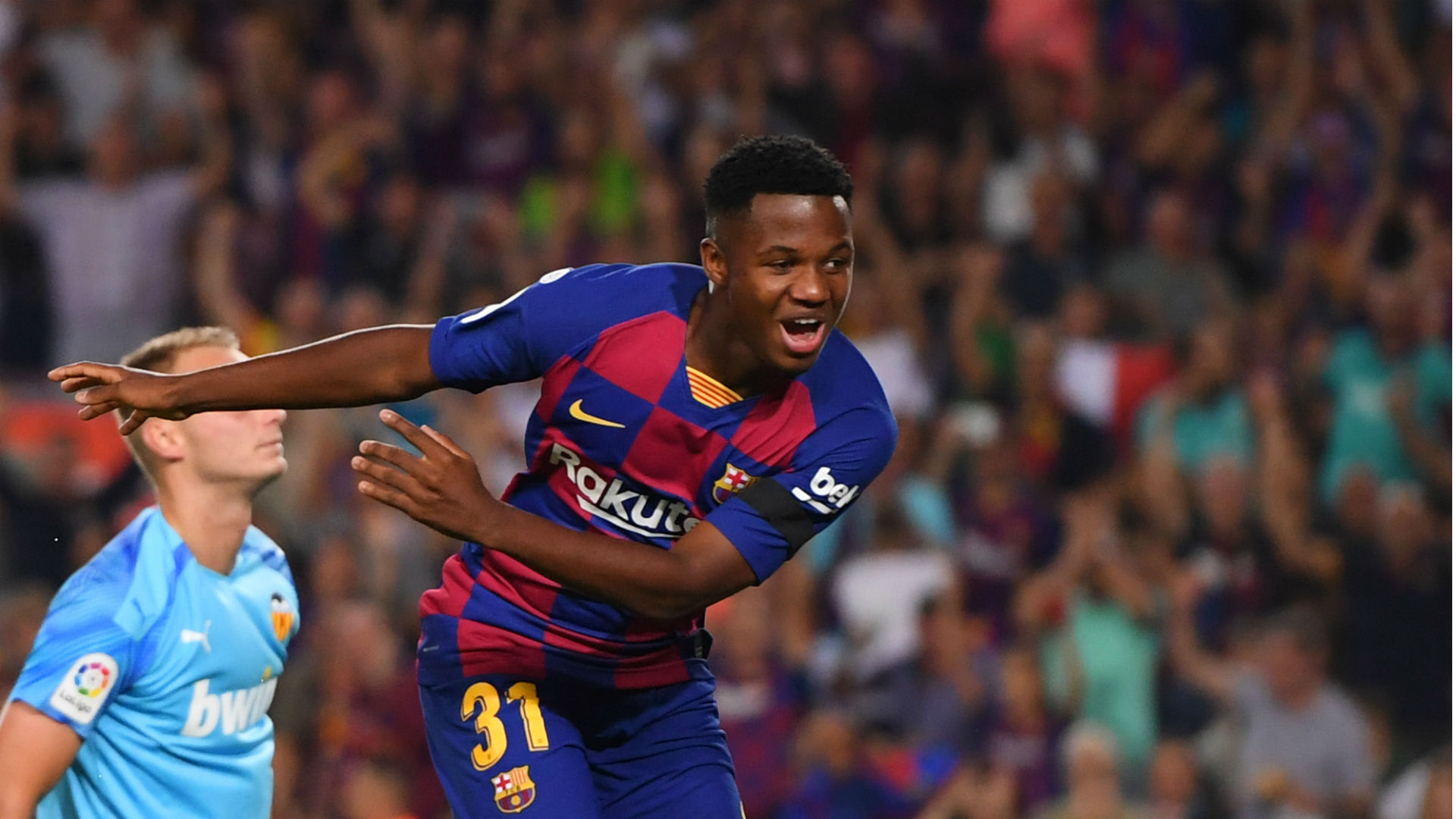 Barcelona teenager Ansu Fati must be treated with patience - Lenglet