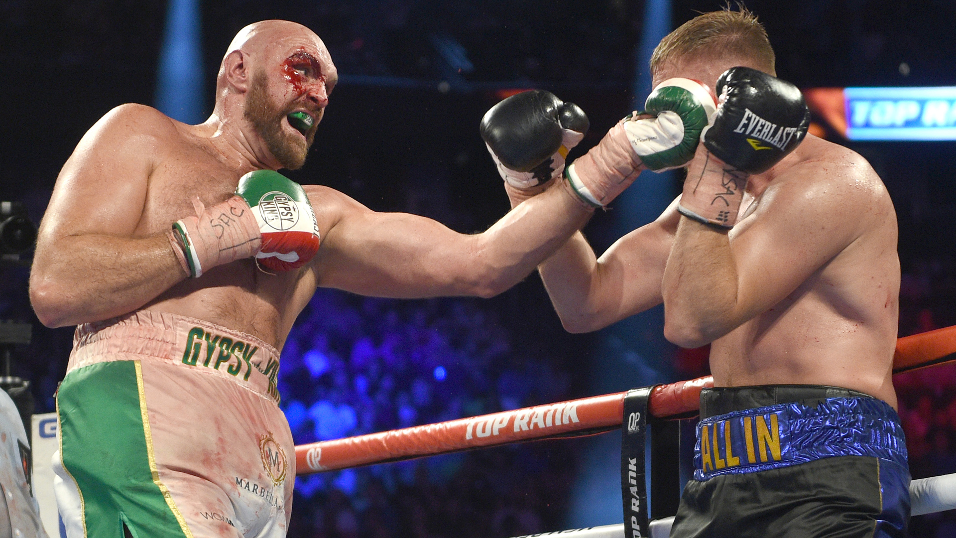 Fury wants to face 'bum' Wilder in February