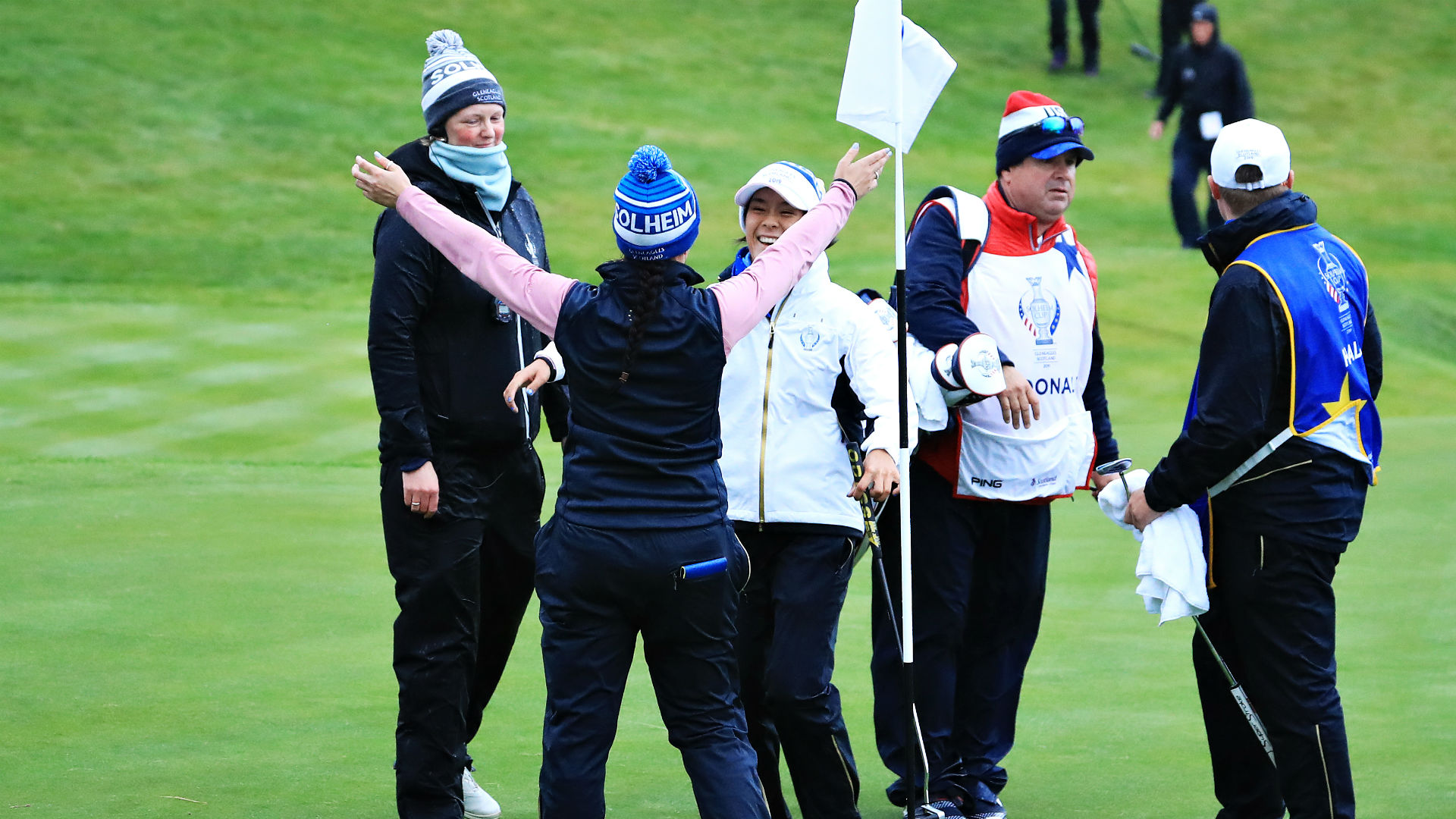Solheim Cup tied at 8-8 heading into final day