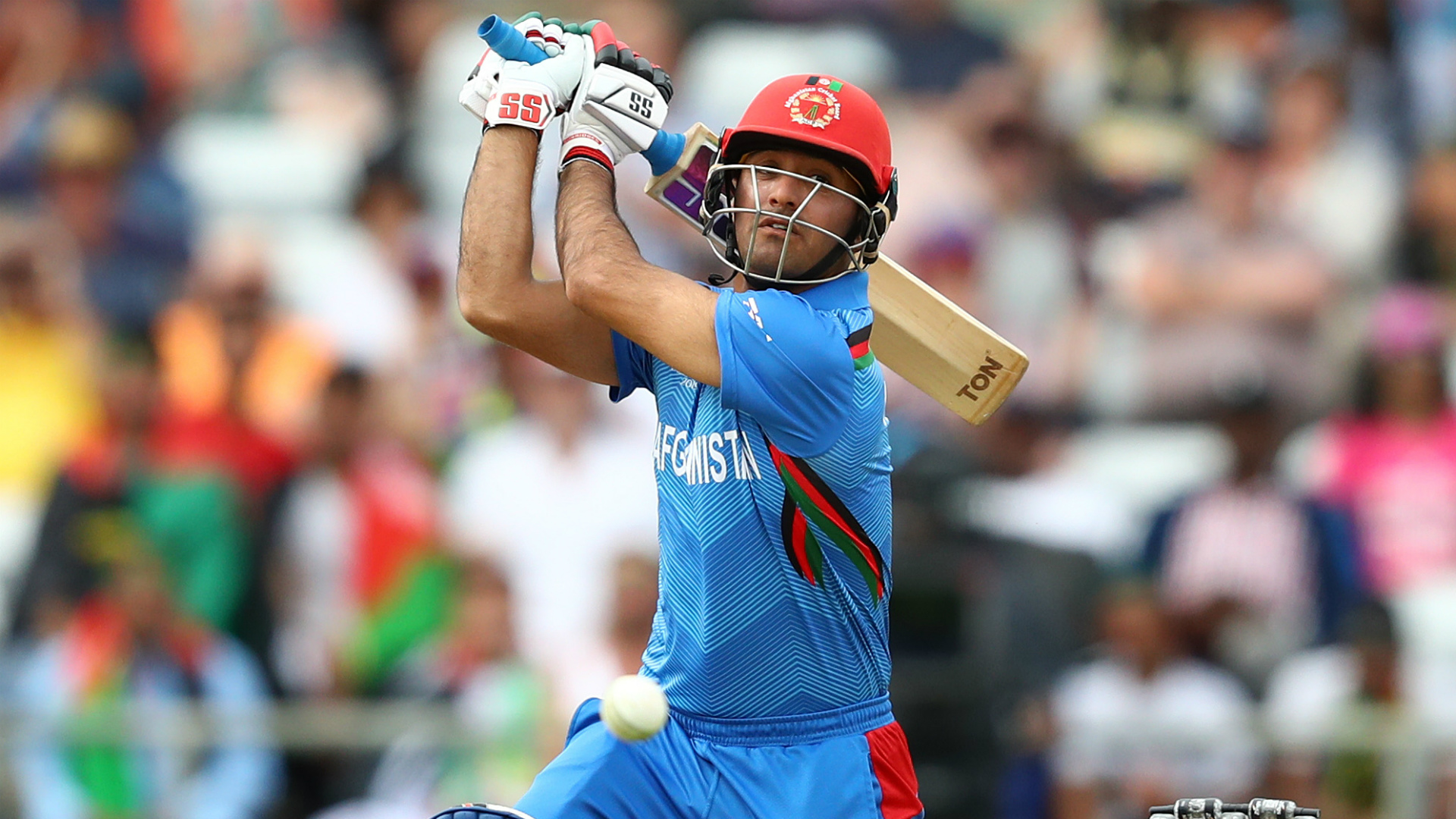 Seven straight sixes see Afghanistan surge past Zimbabwe