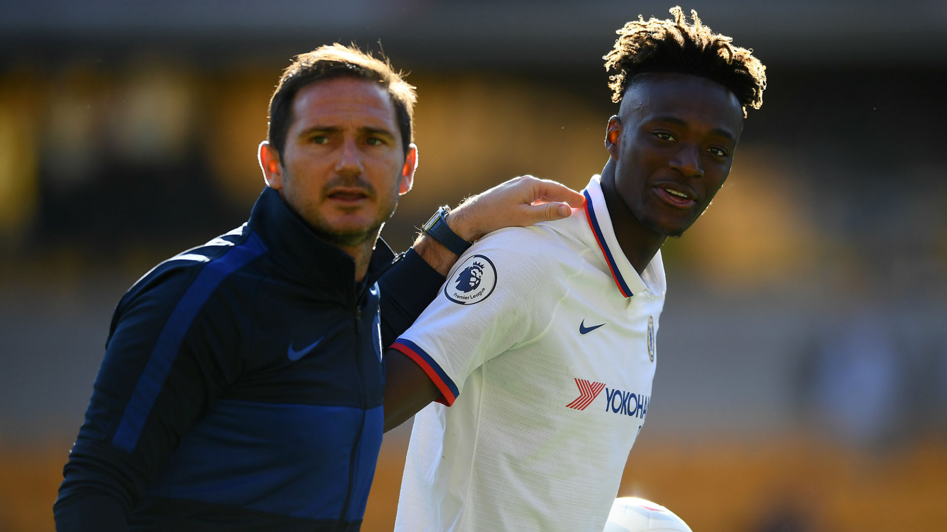 Lampard backs Abraham for England call but not setting expectations