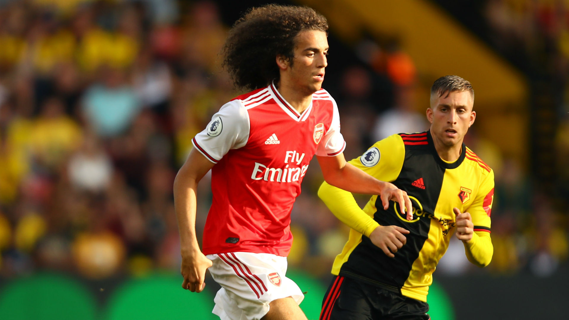 Watford troll Guendouzi for goading fans during Arsenal draw
