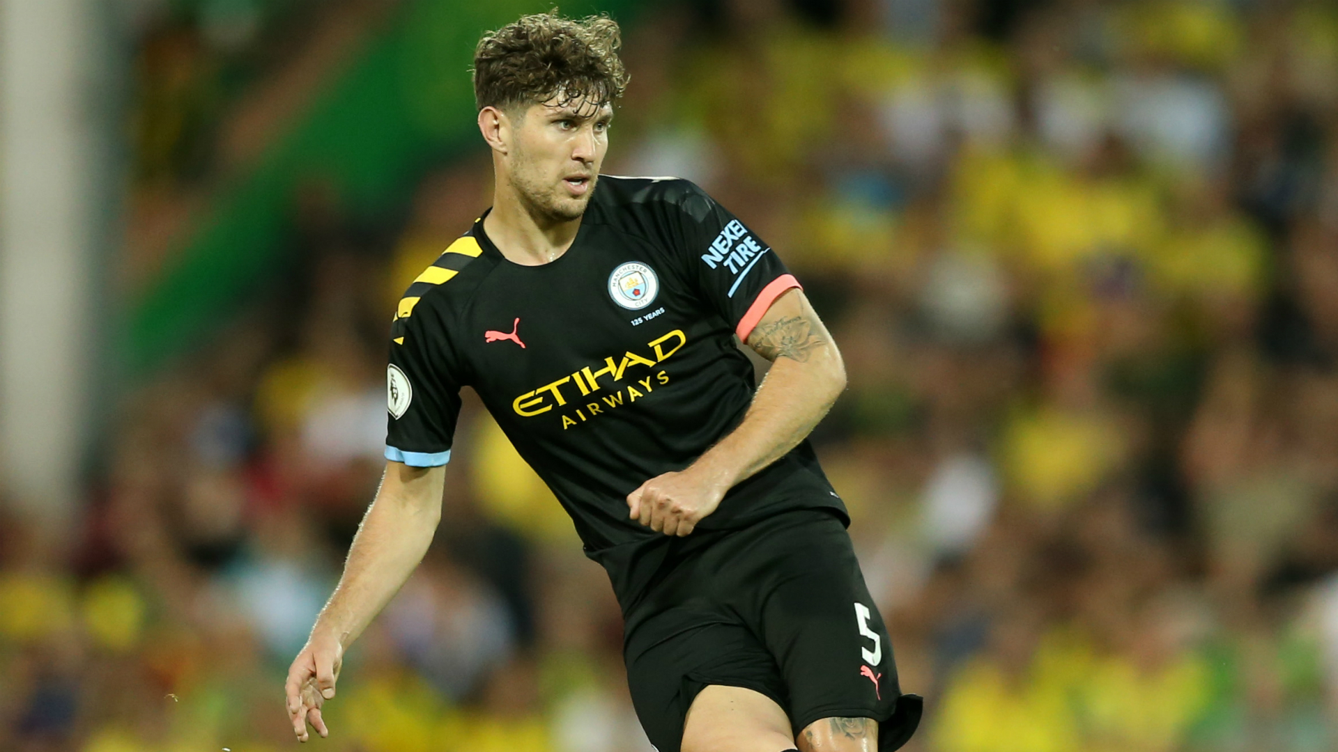 Man City defender Stones out for a month