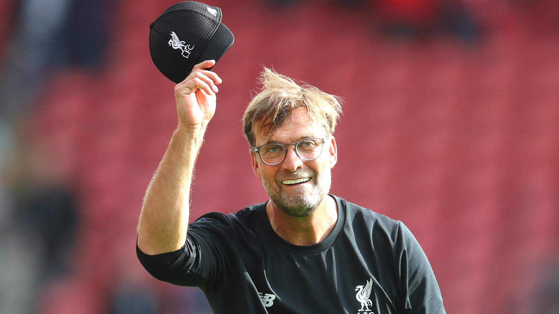 Cheery Klopp dismisses weather talk but cuts through Liverpool hype