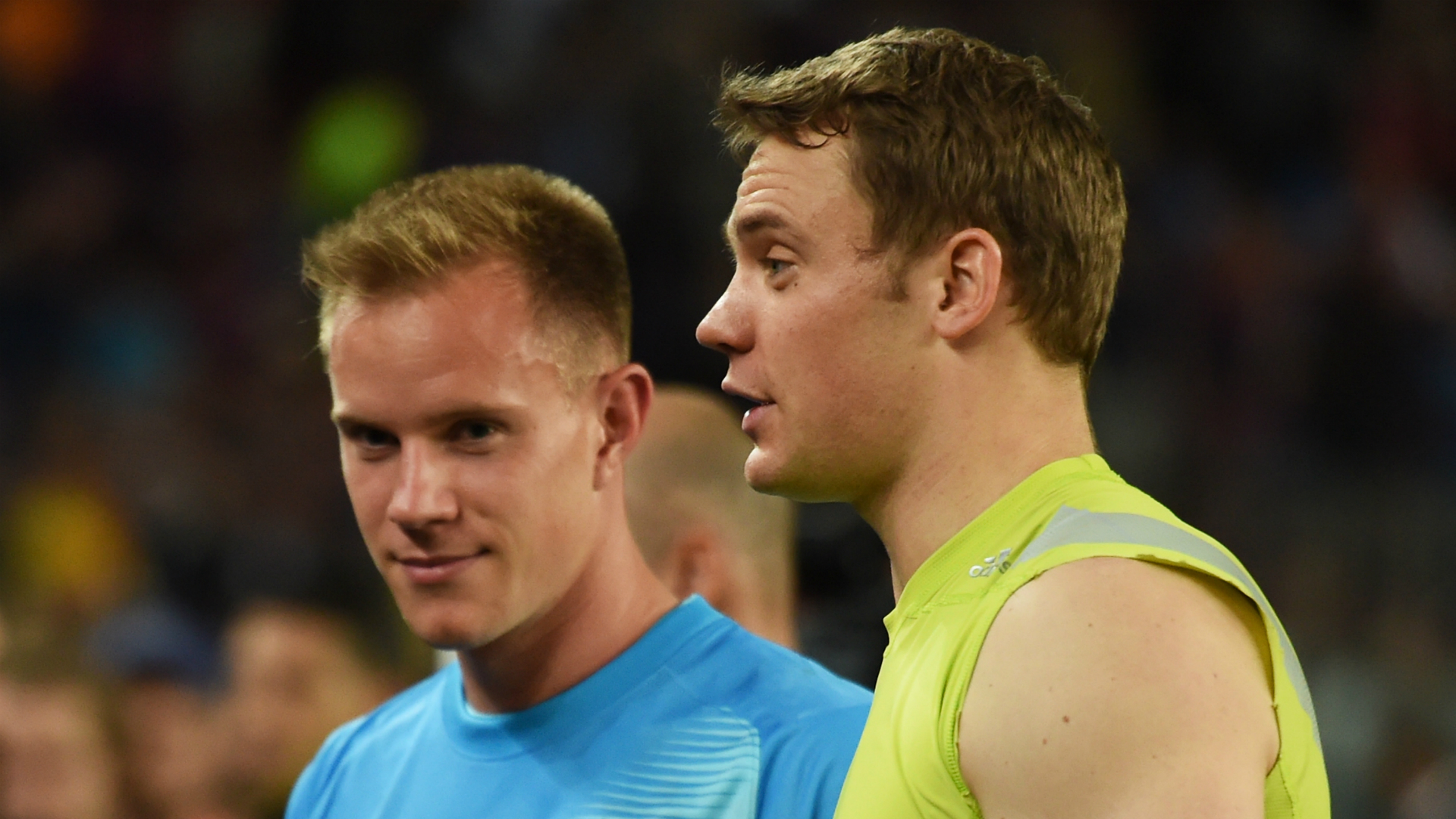 Neuer seeks to end tension with Germany team-mate Ter Stegen