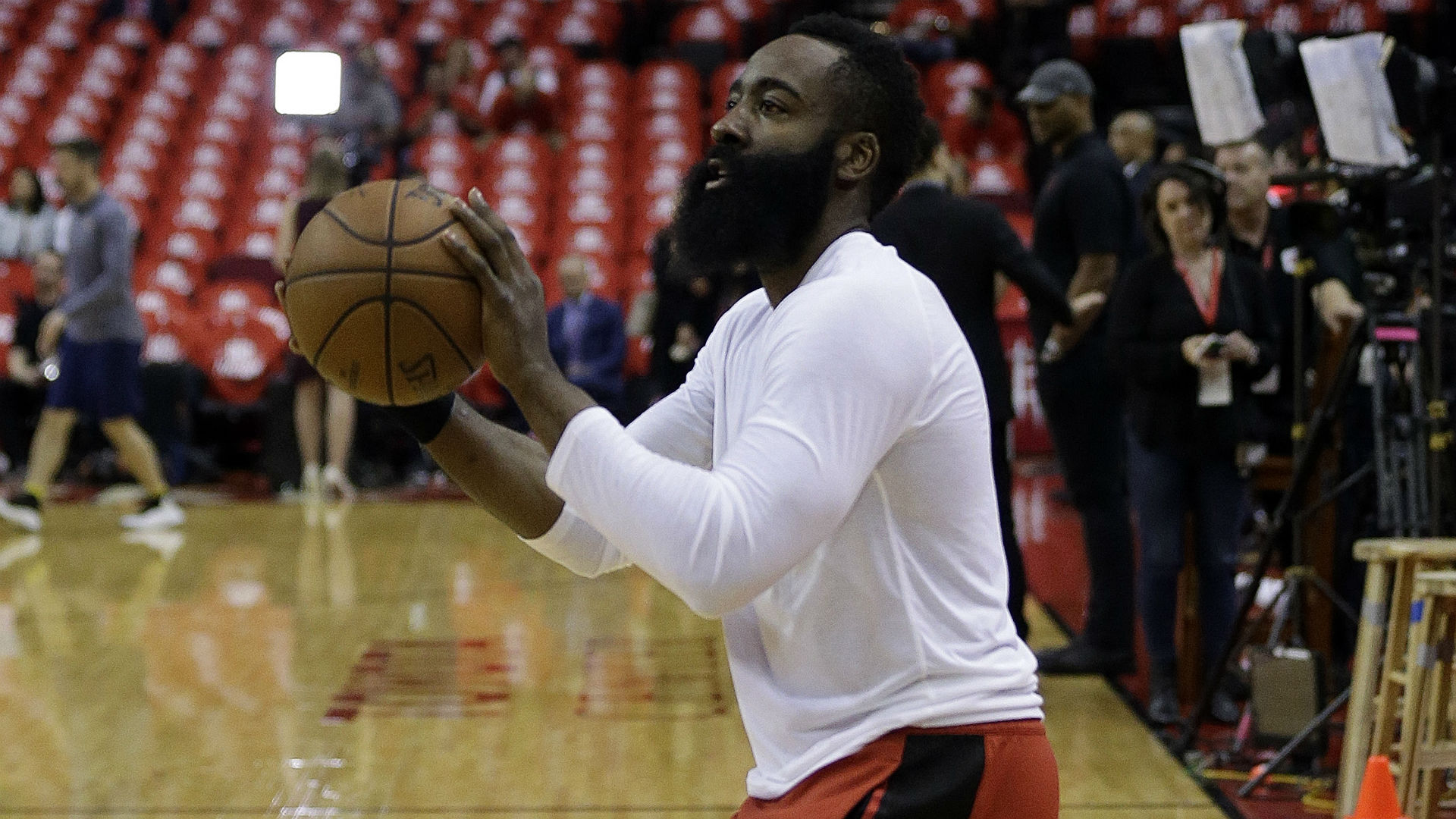 Rockets star Harden: I want to be one of those basketball players you won't forget