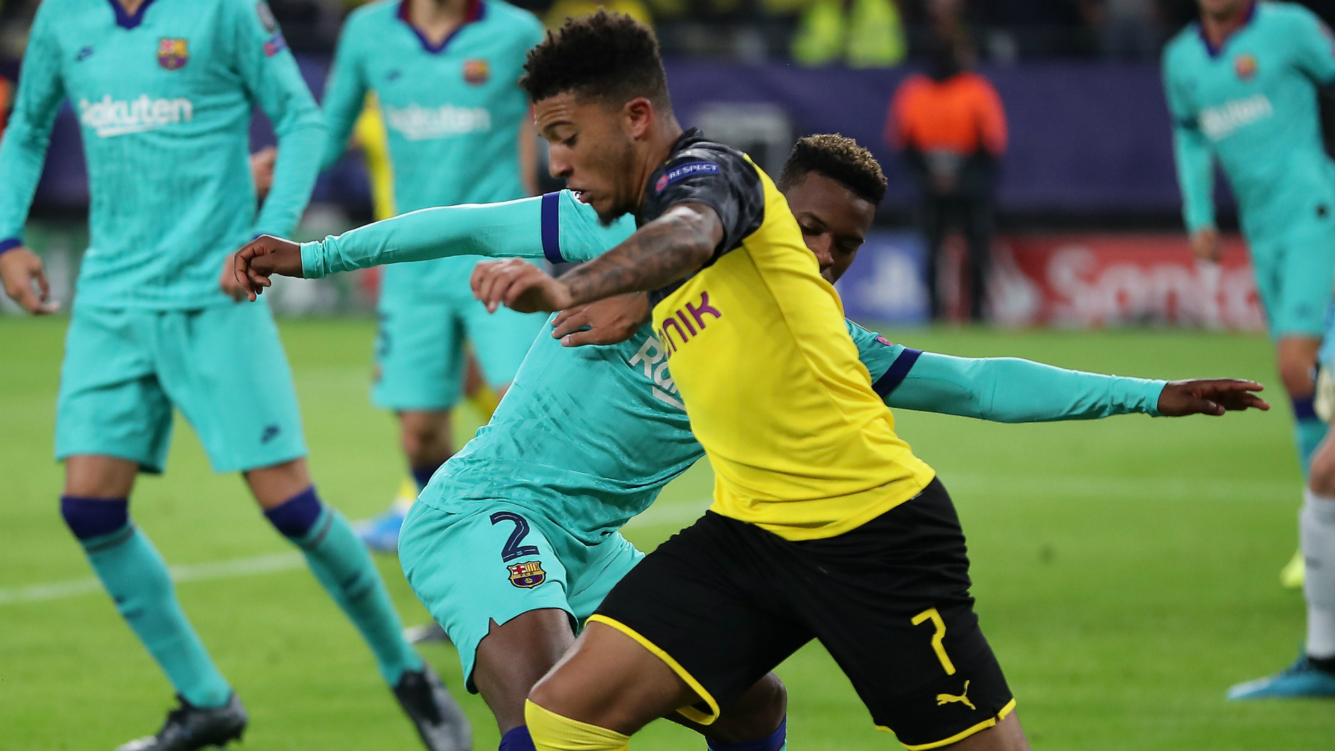 Sancho: My future? I just want to do well with Dortmund