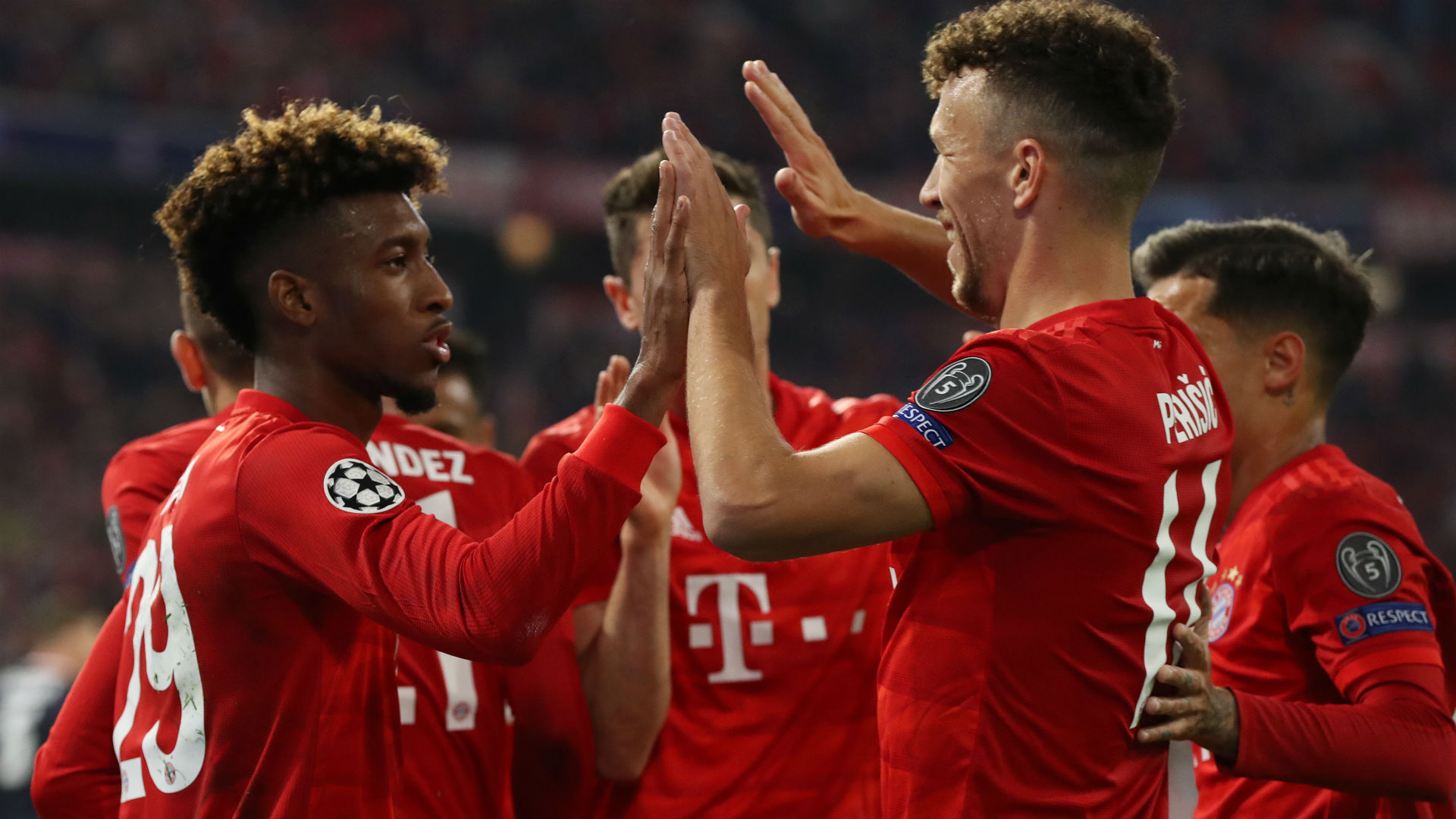 Bayern Munich 3-0 Red Star Belgrade: Coman, Lewandowski and Muller break resistance