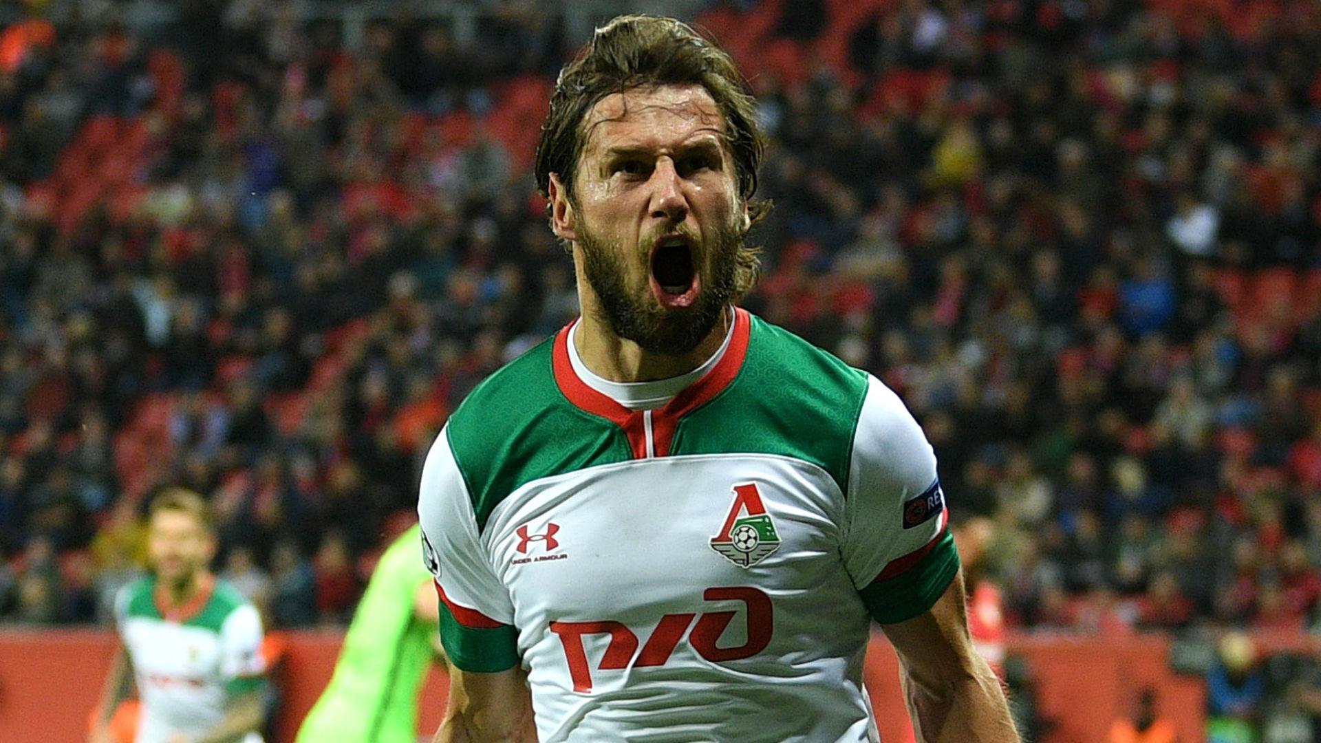 Bayer Leverkusen 1-2 Lokomotiv Moscow: Krychowiak and Barinov secure rare away win