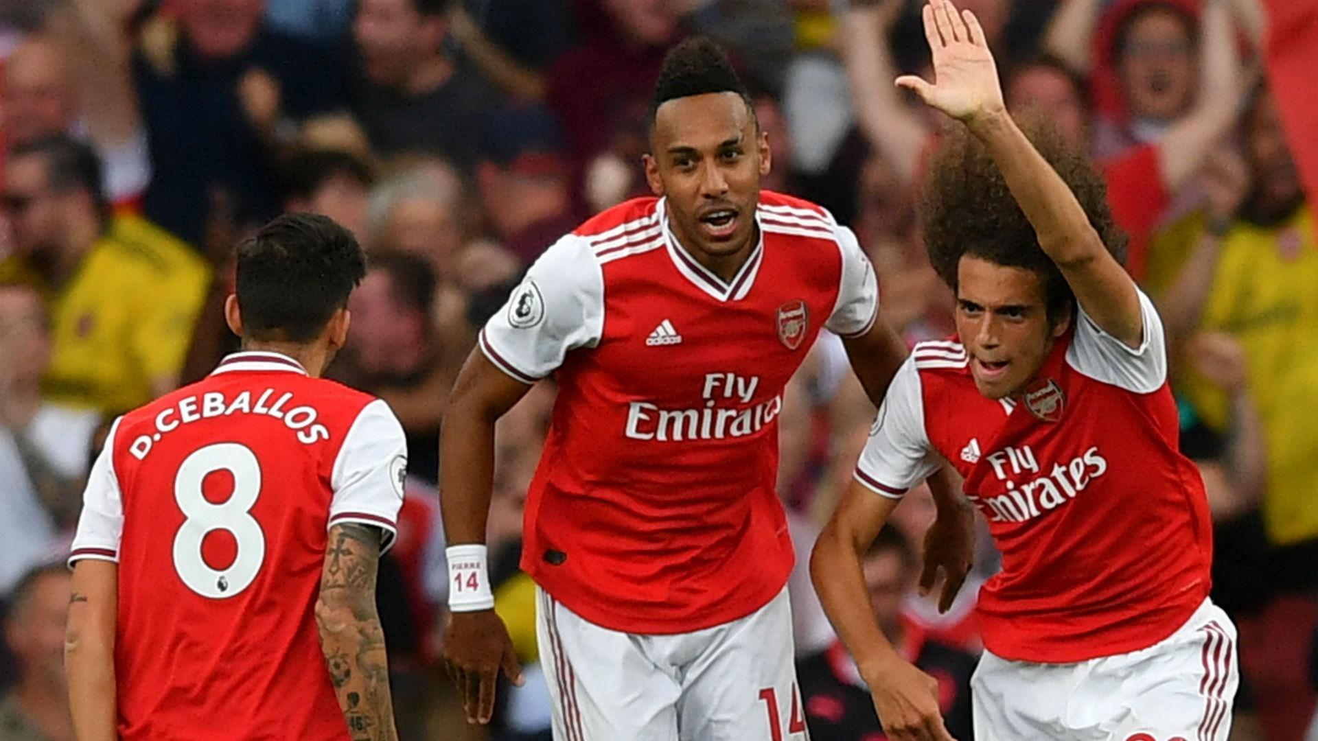 Arsenal 2-2 Tottenham: Gunners battle back through Lacazette and Aubameyang
