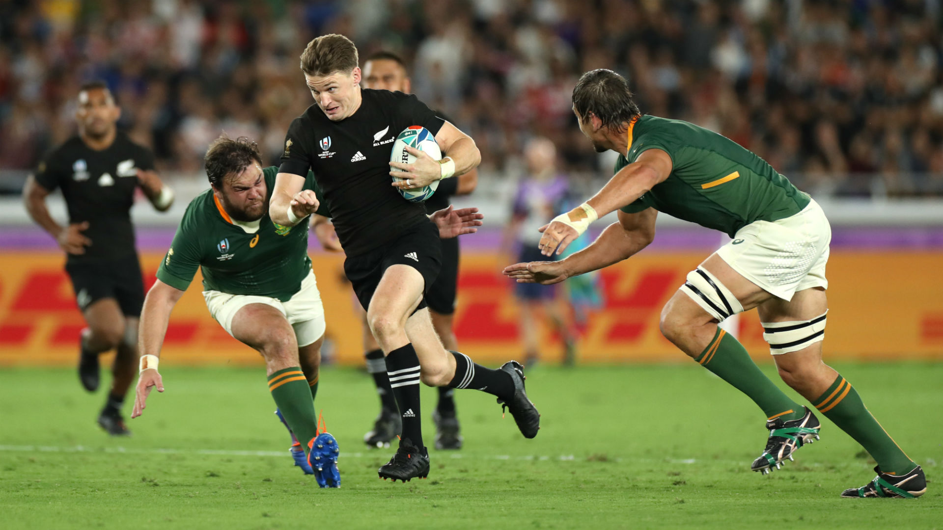 Rugby World Cup 2019: New Zealand 23-13 South Africa