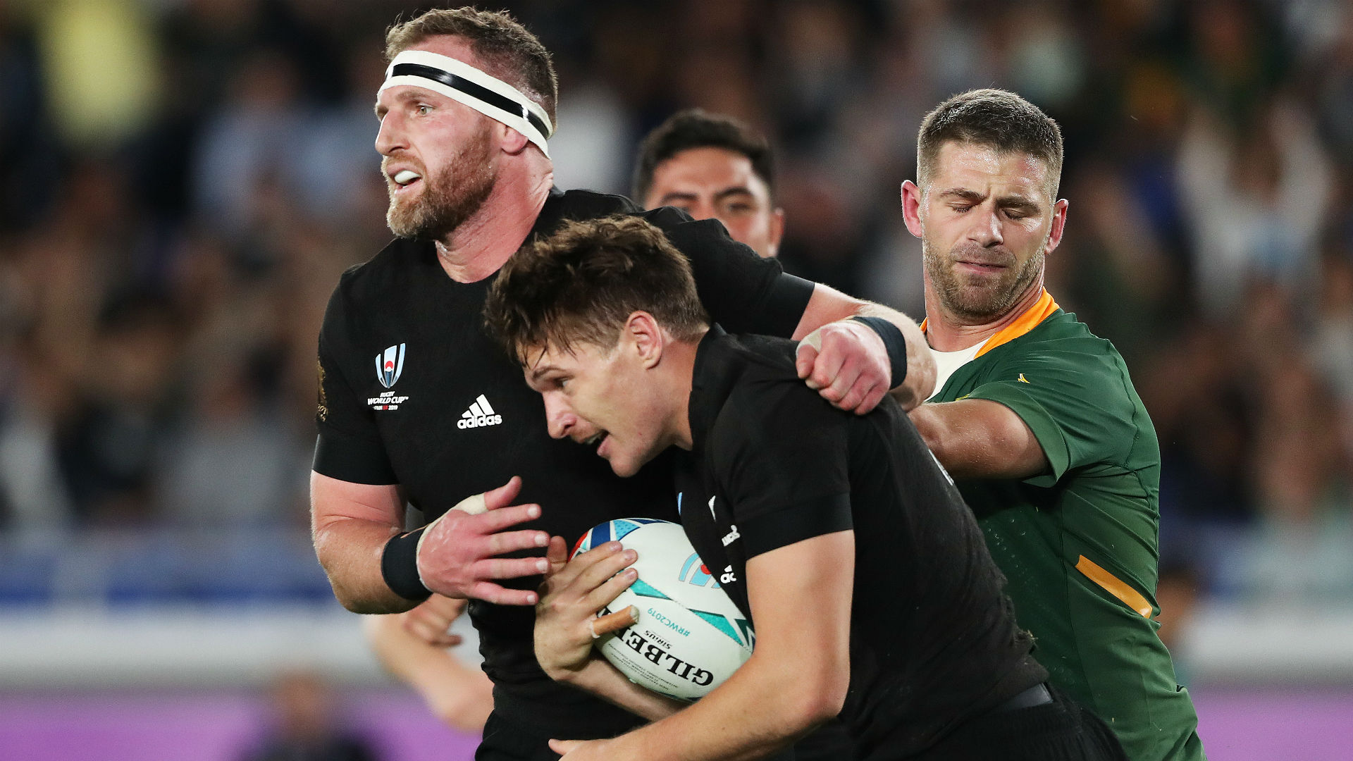 Rugby World Cup 2019: Ruthless All Blacks lay down a marker with six minutes of magic