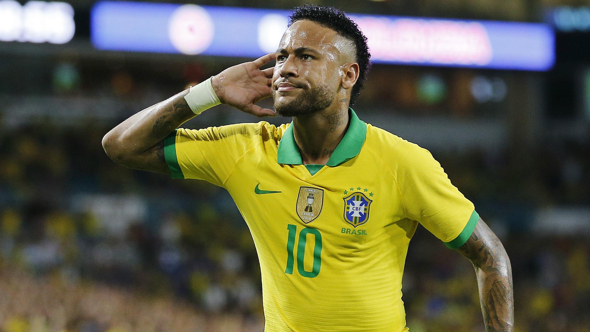 Neymar is happy in Brazil squad – Tite