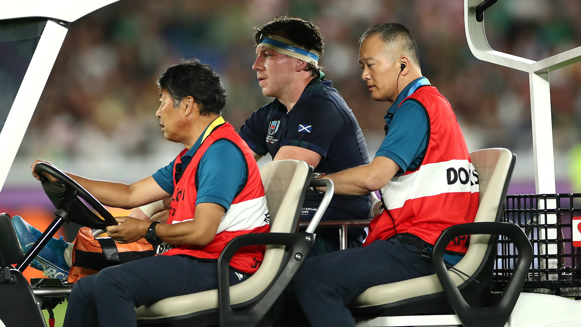 Rugby World Cup 2019: Watson knee injury adds to Scotland woes