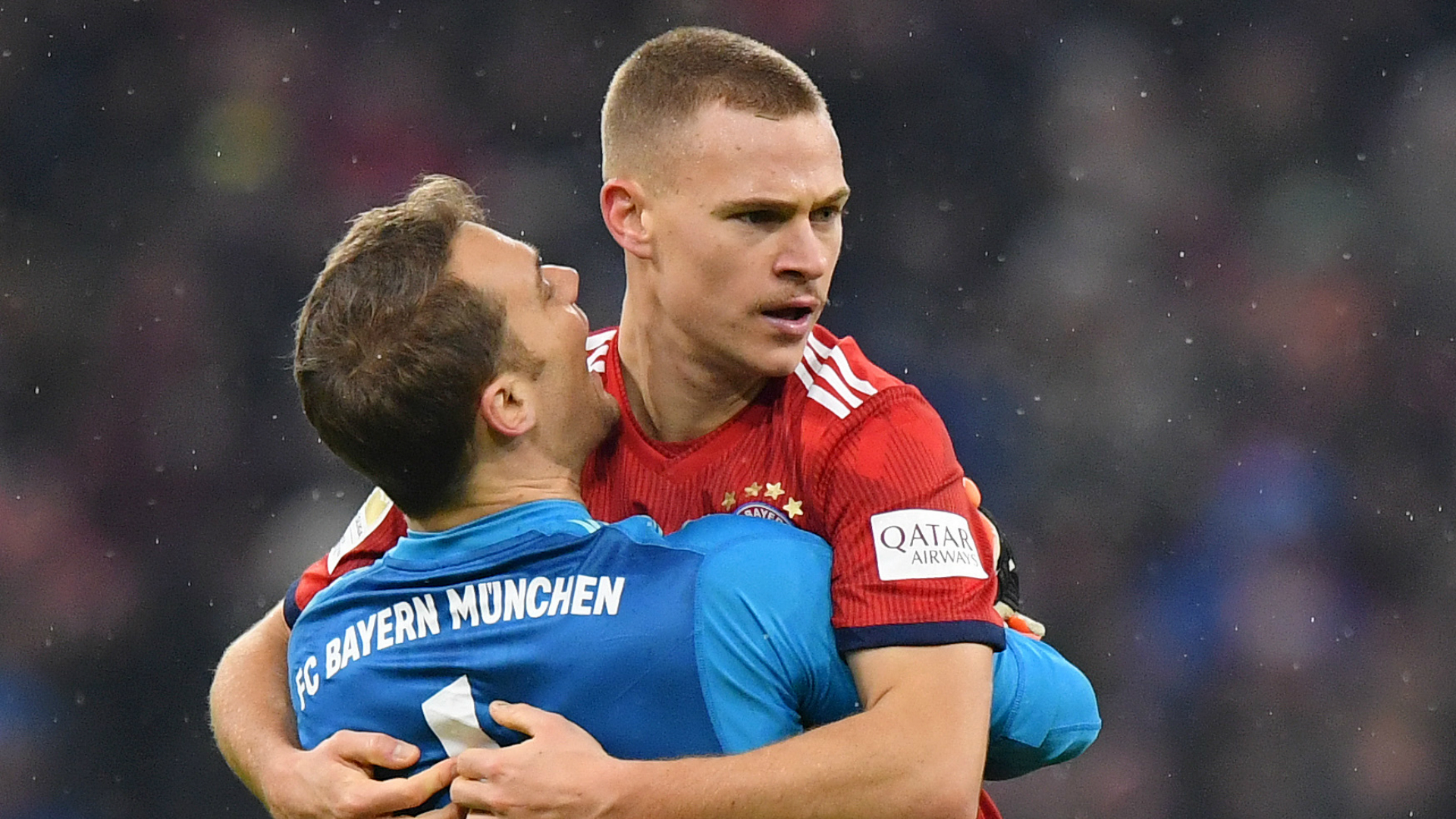 Kimmich counters Hoeness criticism of Germany goalkeeper debate