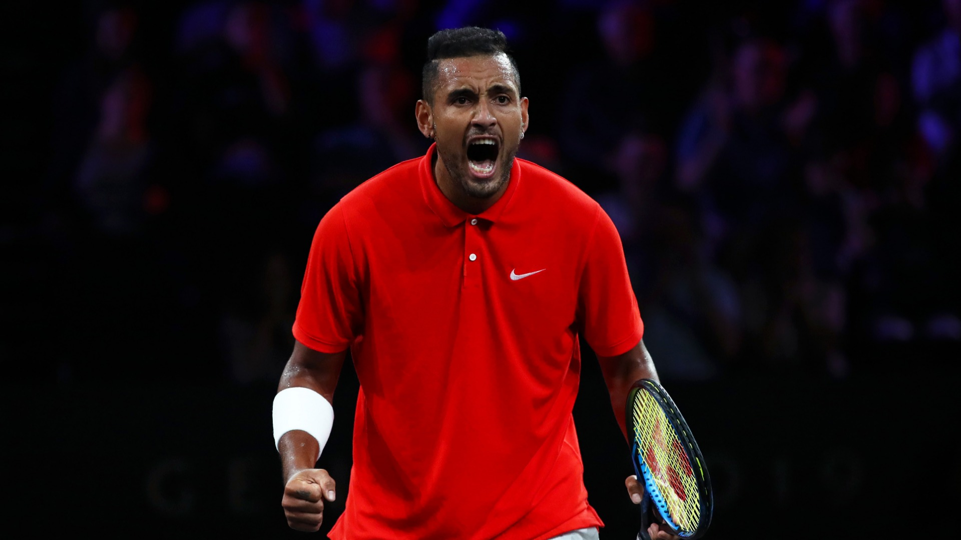 Kyrgios keeps Team World in contention at Laver Cup