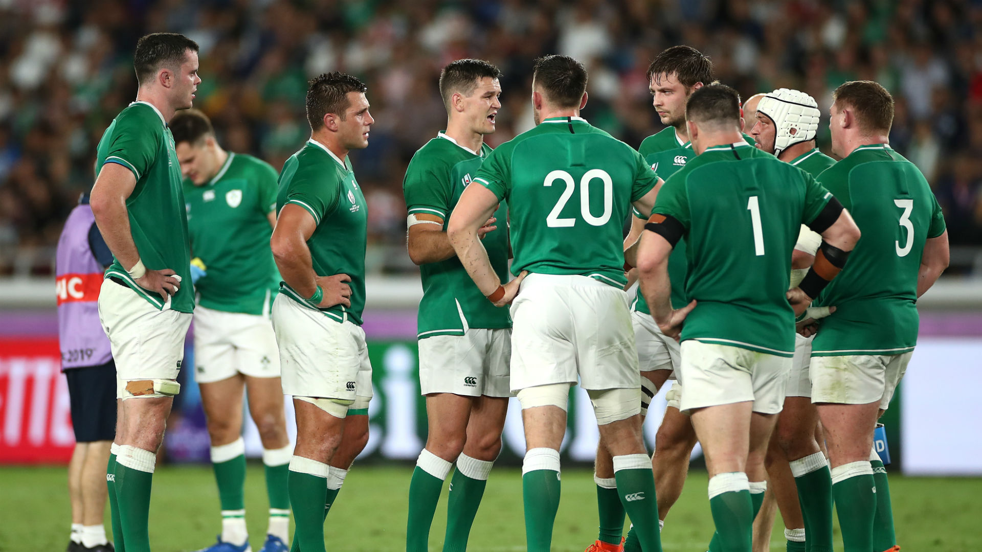Rugby World Cup 2019: Sexton and Best lead the charge as Ireland prove their credentials