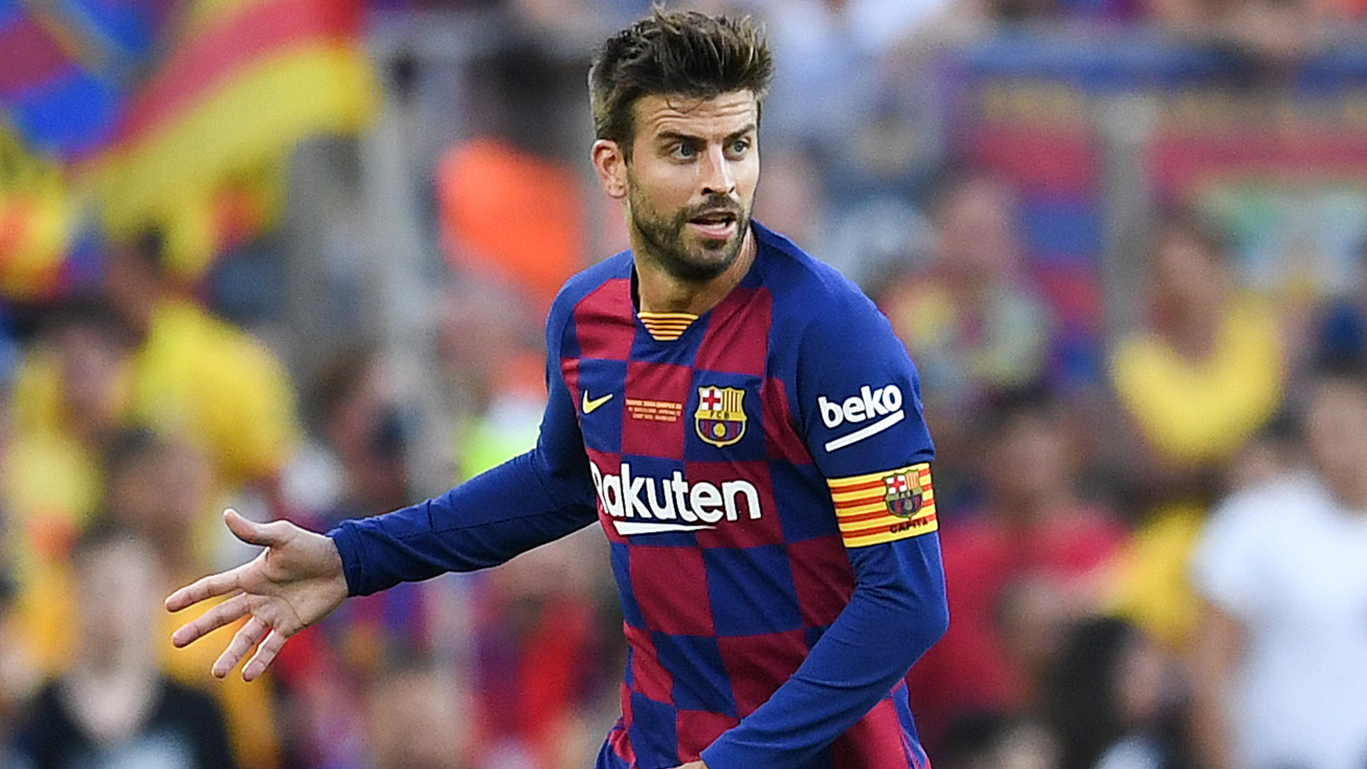 Pique blames pre-season for Barcelona's slow start