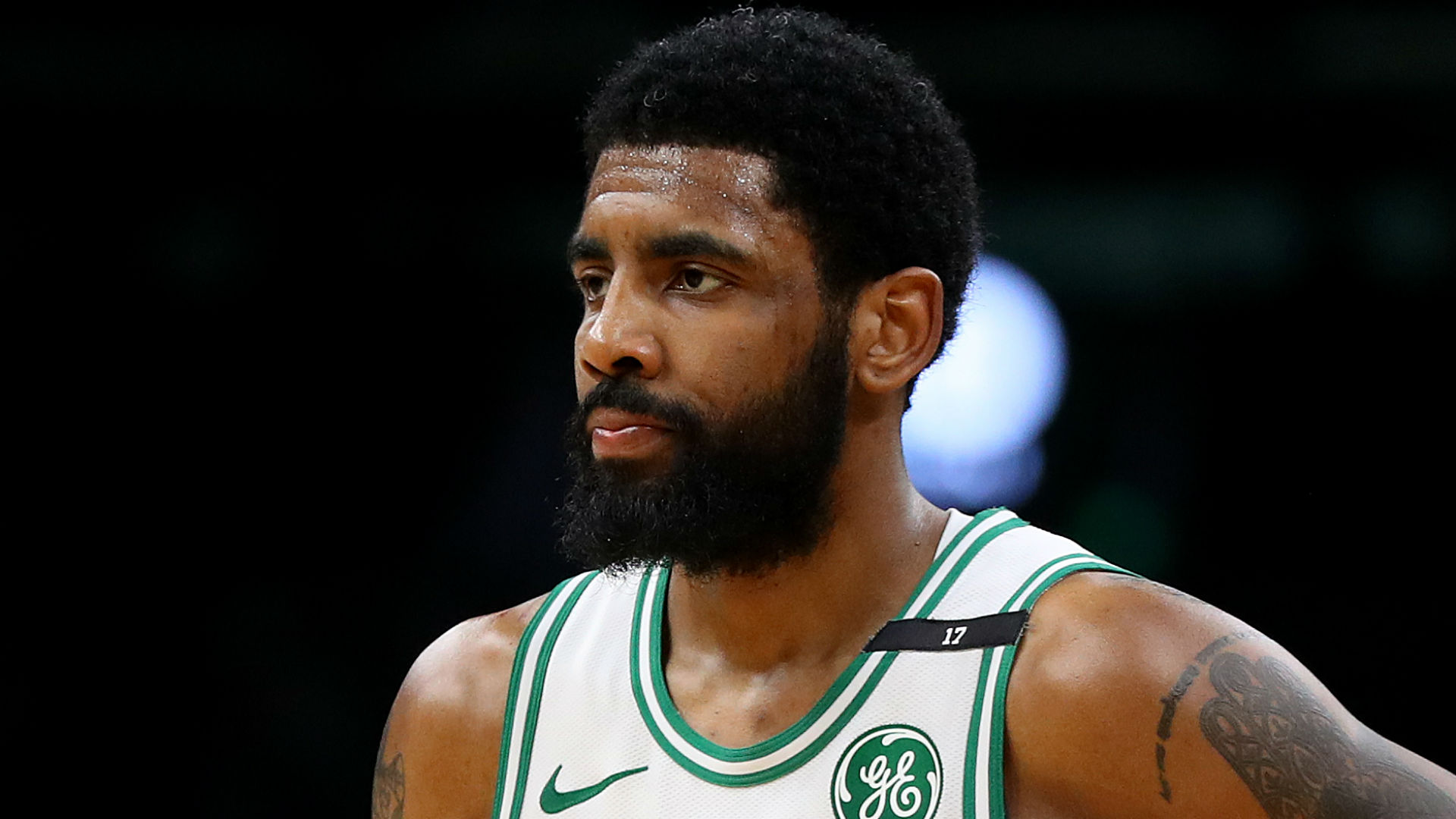 Nets star Kyrie Irving day-to-day with facial fracture