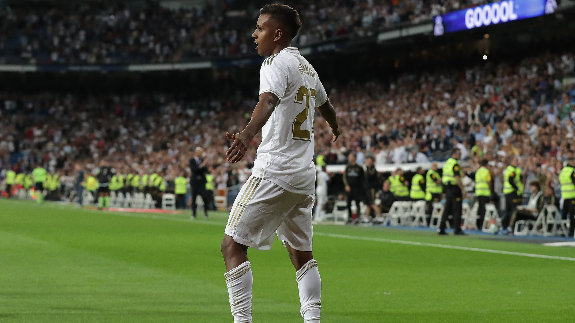 Zidane happy for Rodrygo, Vinicius after Real Madrid teenagers score