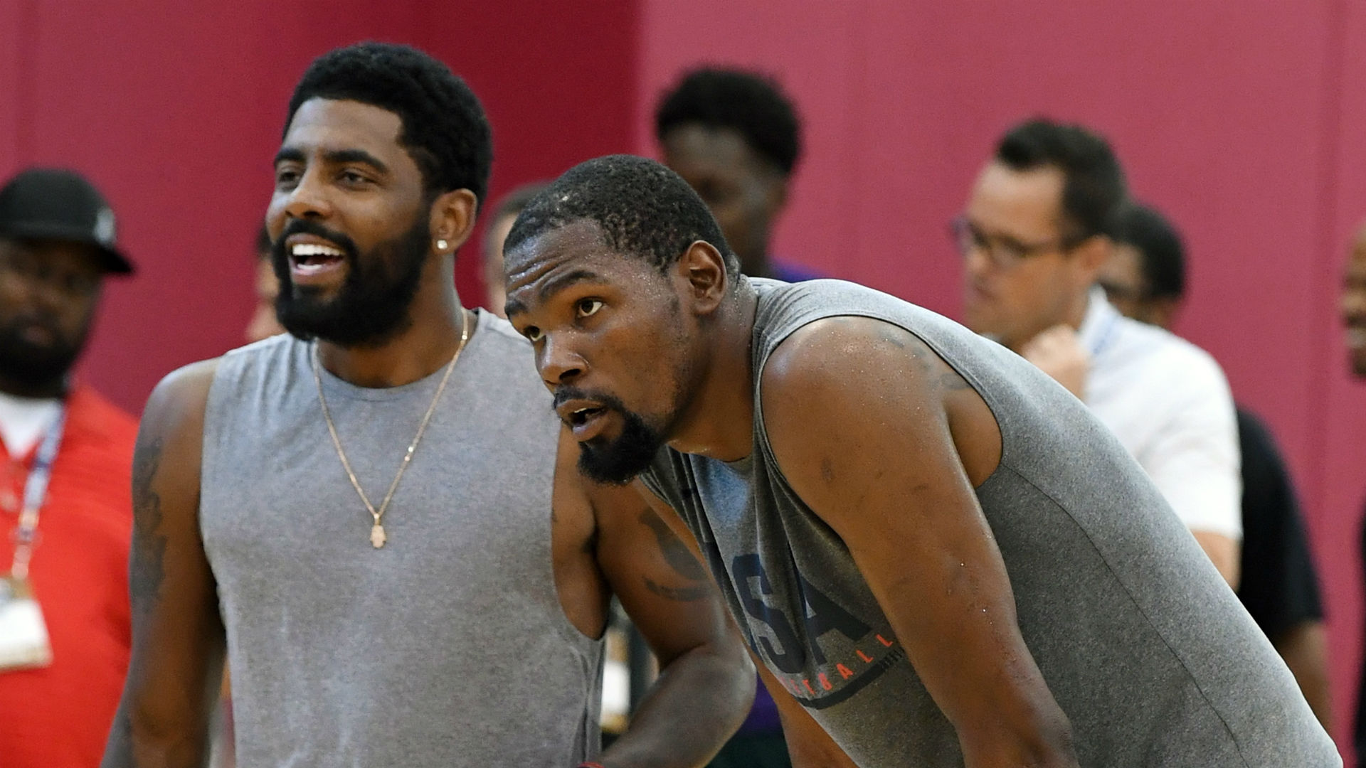 Kyrie Irving on Kevin Durant: We want to end our careers together