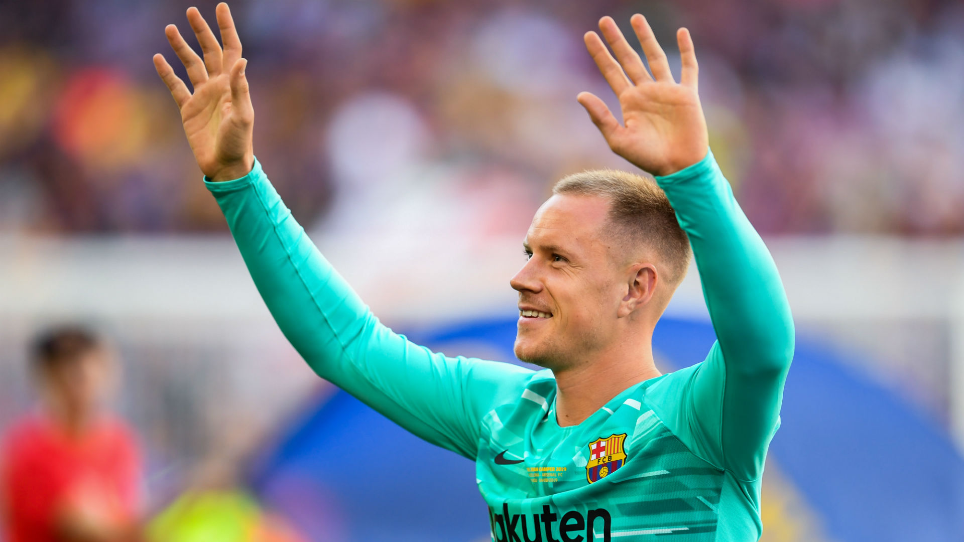 Ter Stegen makes Barca history with assist