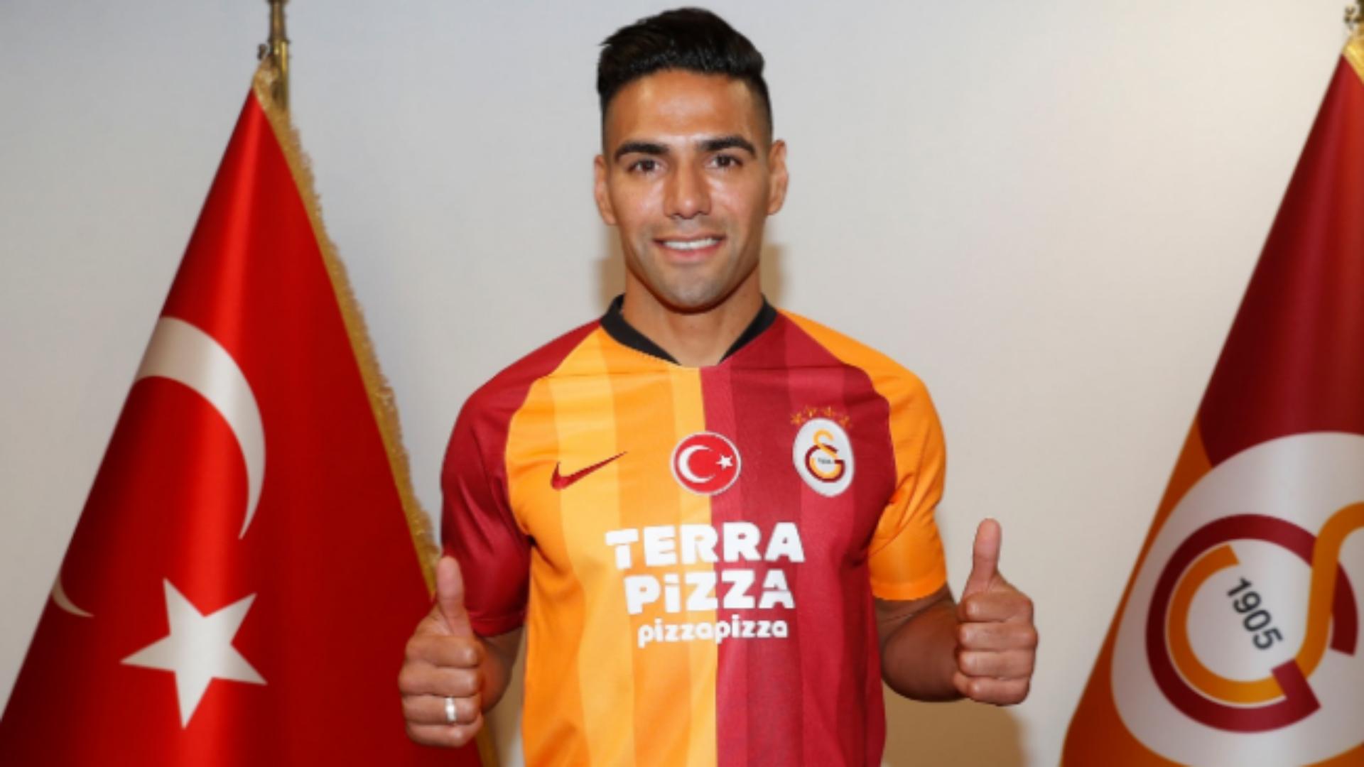 Falcao joins Lemina and Andone at Galatasaray