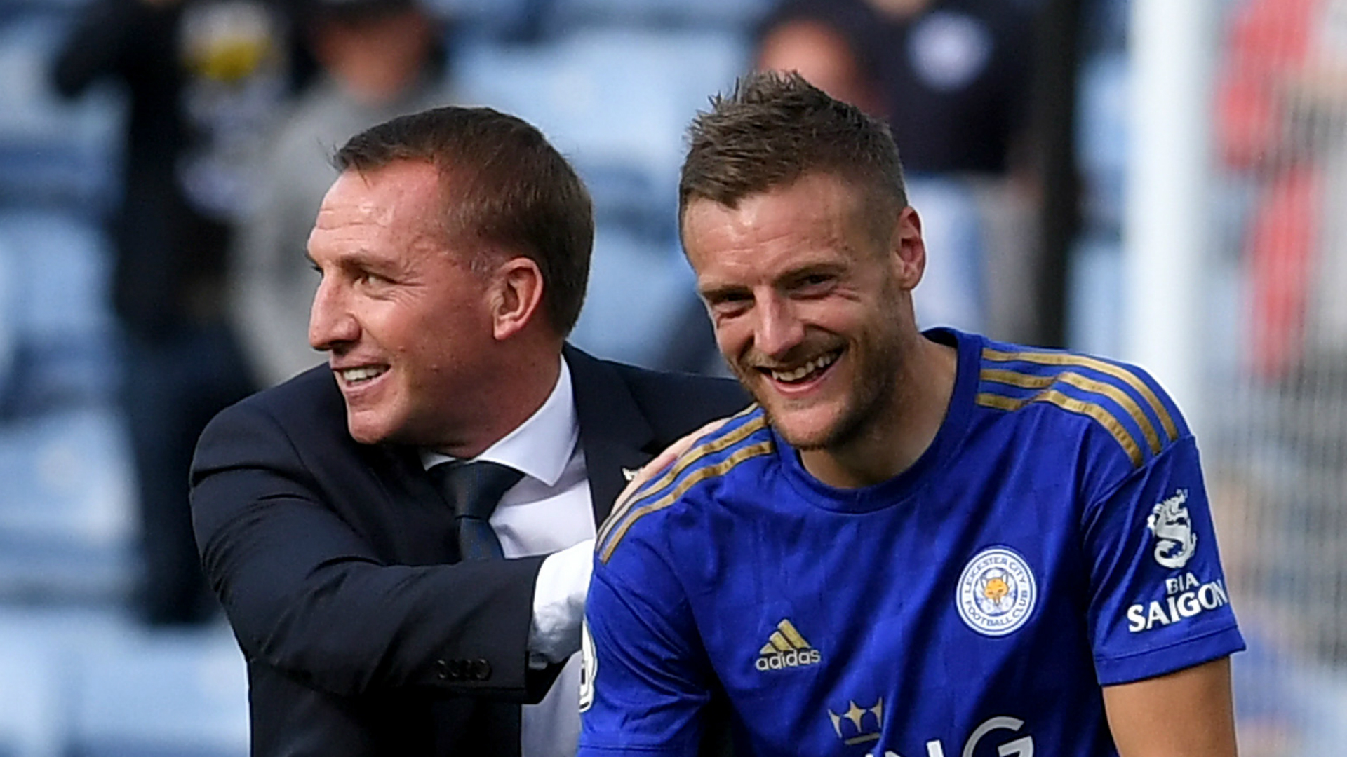 Vardy Party! Leicester City star is officially Premier League's hottest striker