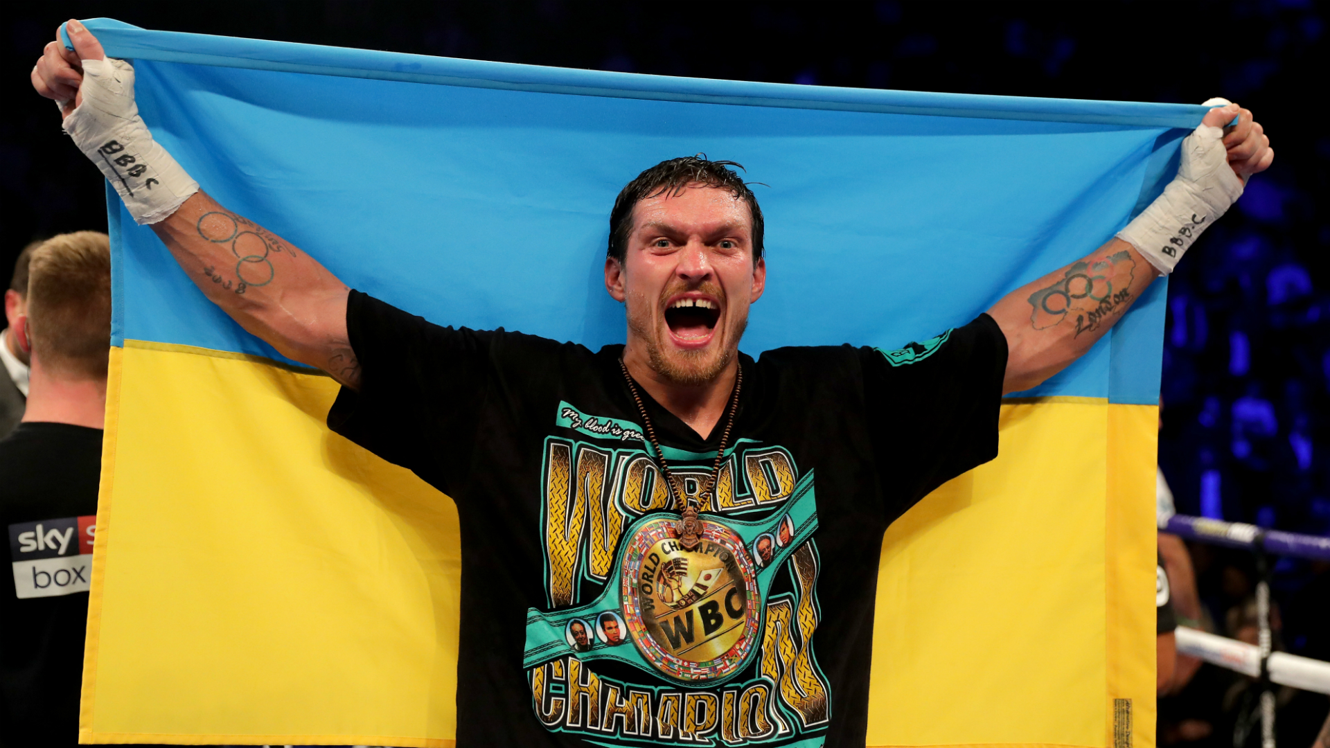 Oleksandr Usyk to face Tyrone Spong in long-awaited heavyweight debut