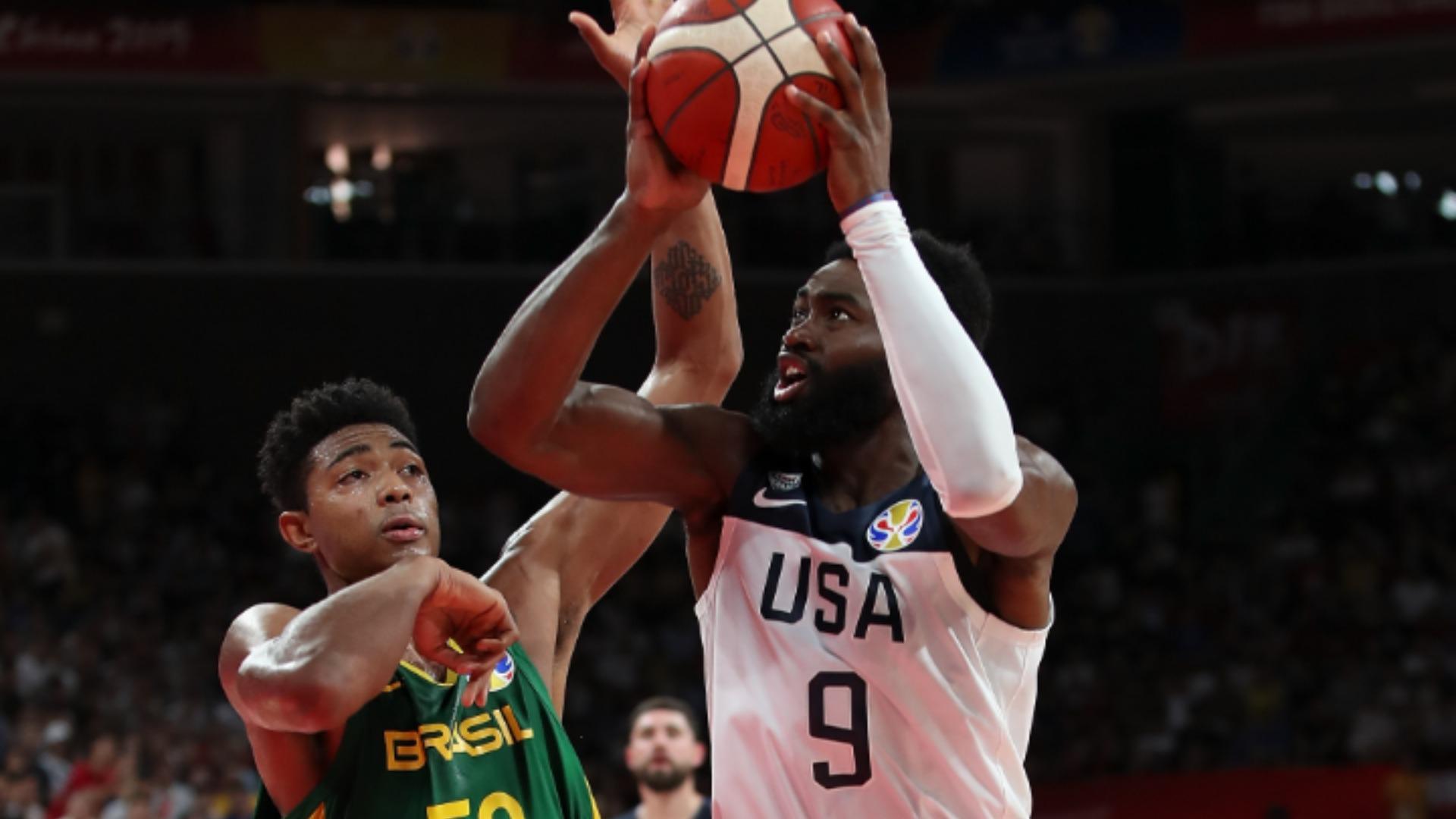FIBA World Cup 2019: Team USA beat Brazil to secure Olympic spot