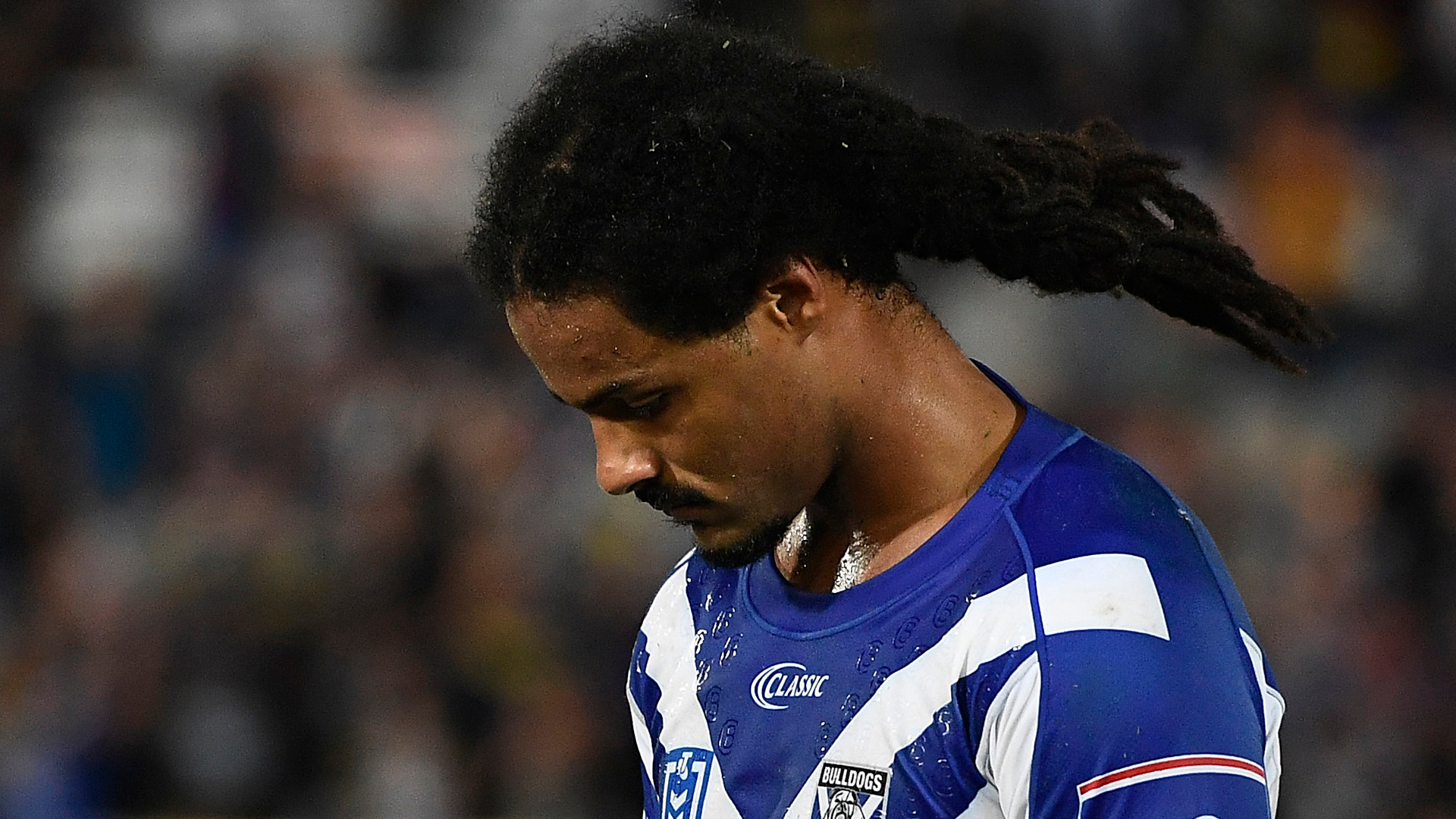 NRL cancels registrations of Bulldogs duo for 'inexcusable' behaviour