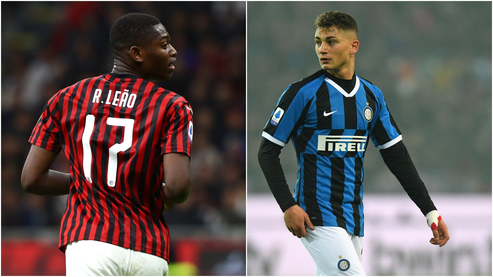 Esposito and Leao play out thrilling virtual Milan derby draw