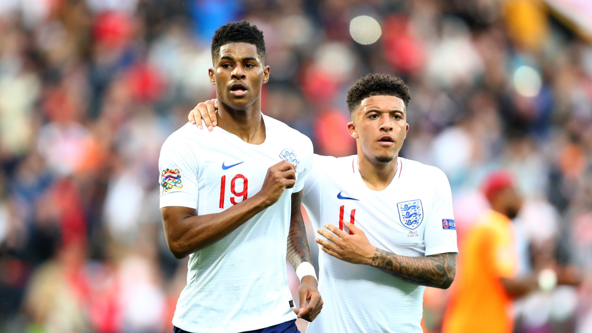 Rashford begs for rematch after exiting England's FIFA tournament to Sancho