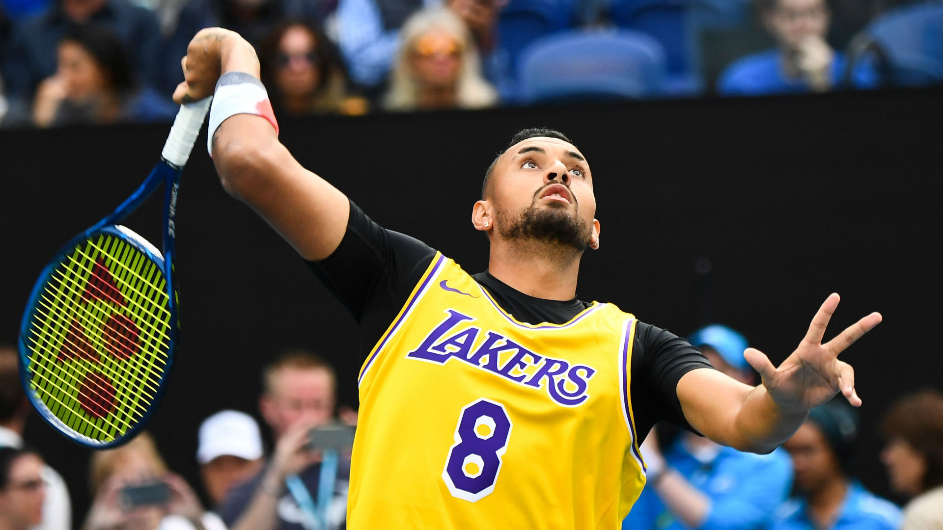 Kyrgios pays tribute to Kobe Bryant & LeBron James with new tattoo