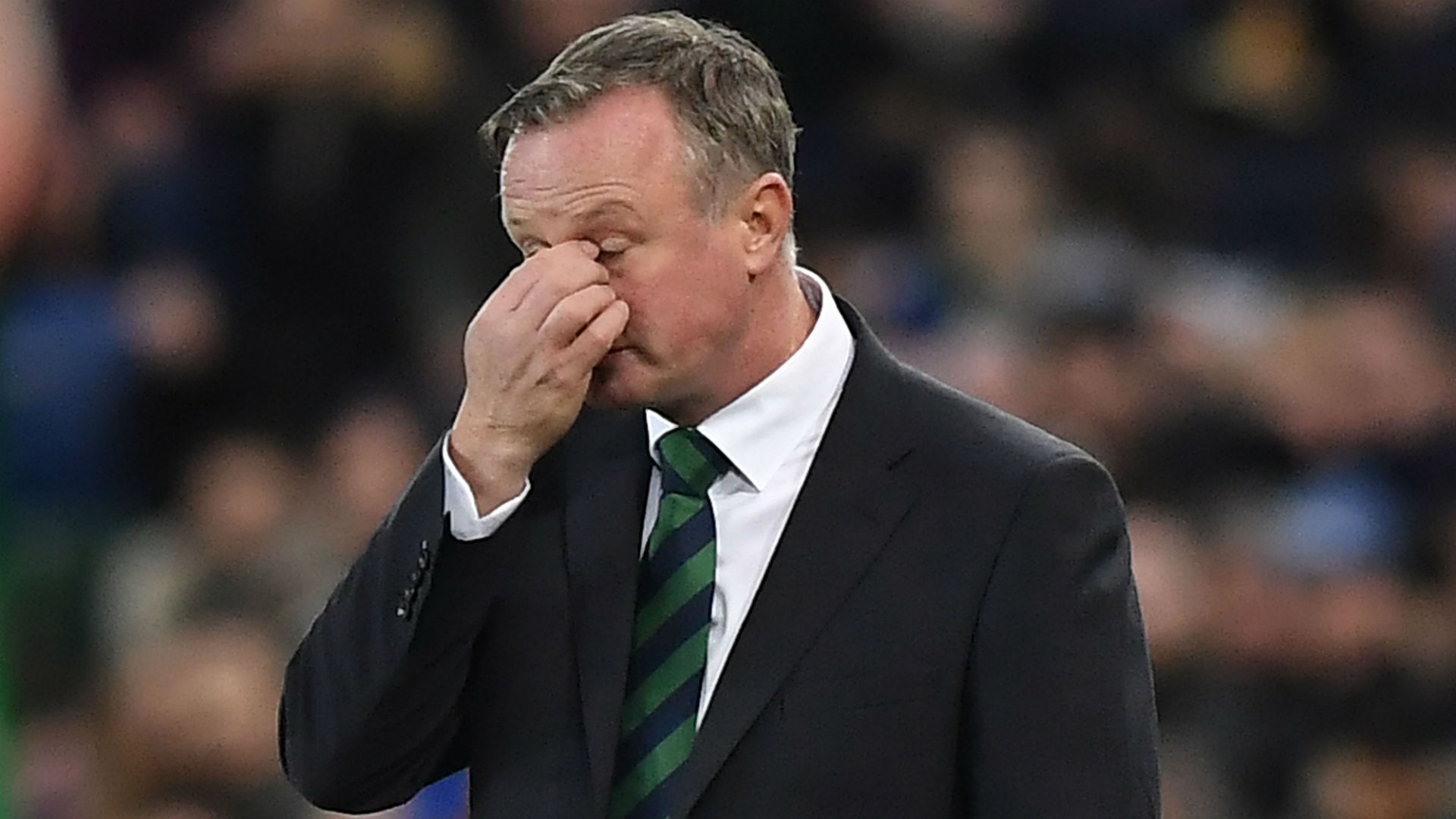 Michael O'Neill steps away from Northern Ireland permanently