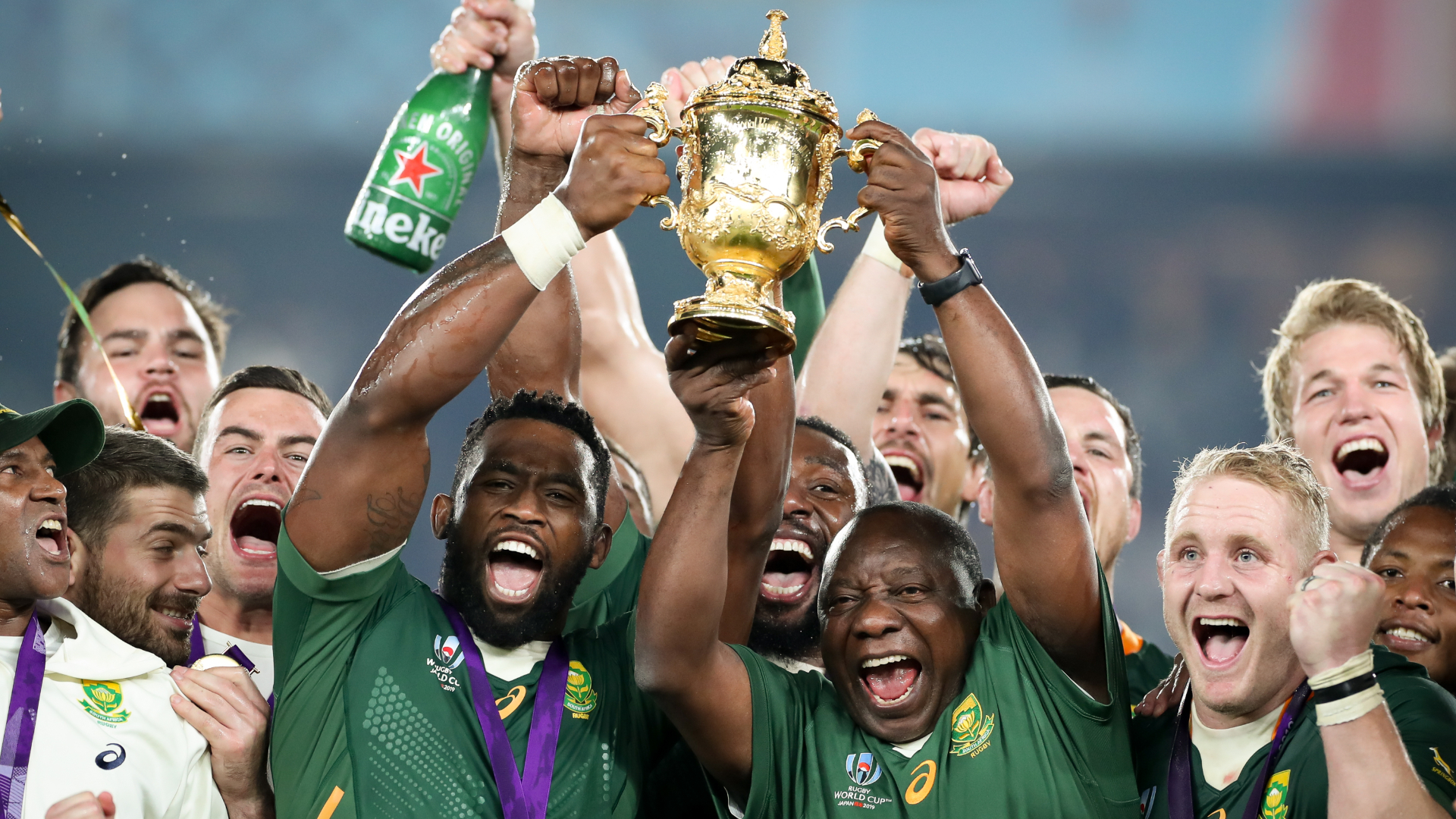 Cheslin came through so much – Van Niekerk reflects on Springboks' 'amazing' Rugby World Cup triumph