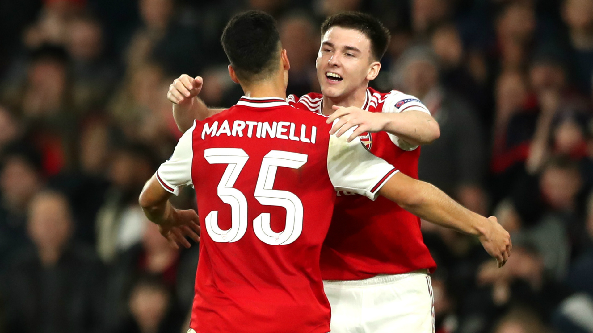Martinelli can be a world-class player for many years, says Arsenal team-mate Tierney