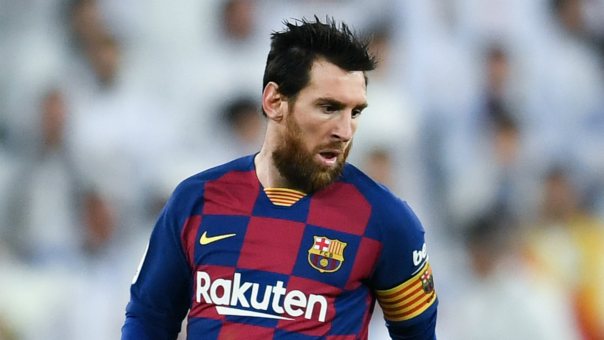 Messi leaving Barcelona would not be 'a drama' for LaLiga, says Tebas