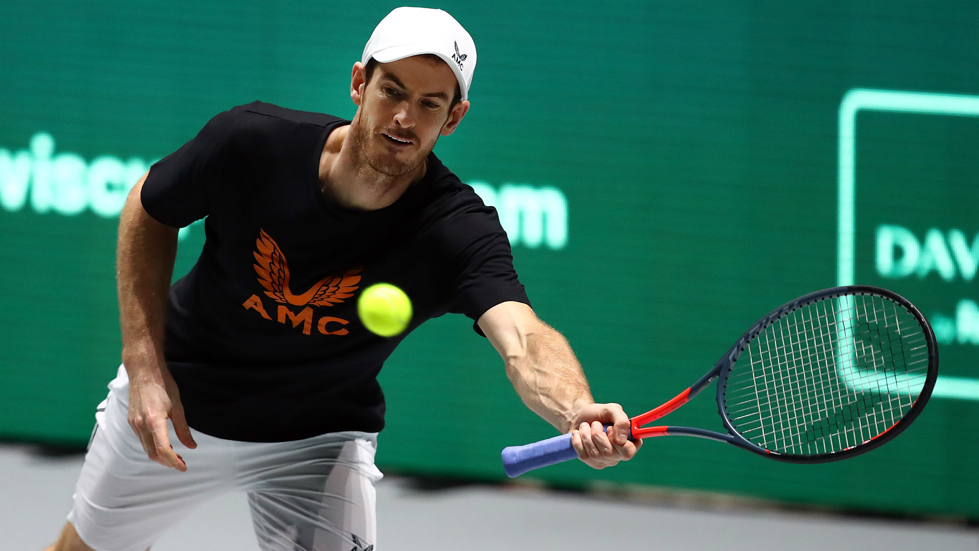 Coronavirus: Murray lays down '100 volley challenge' to Federer and tennis community