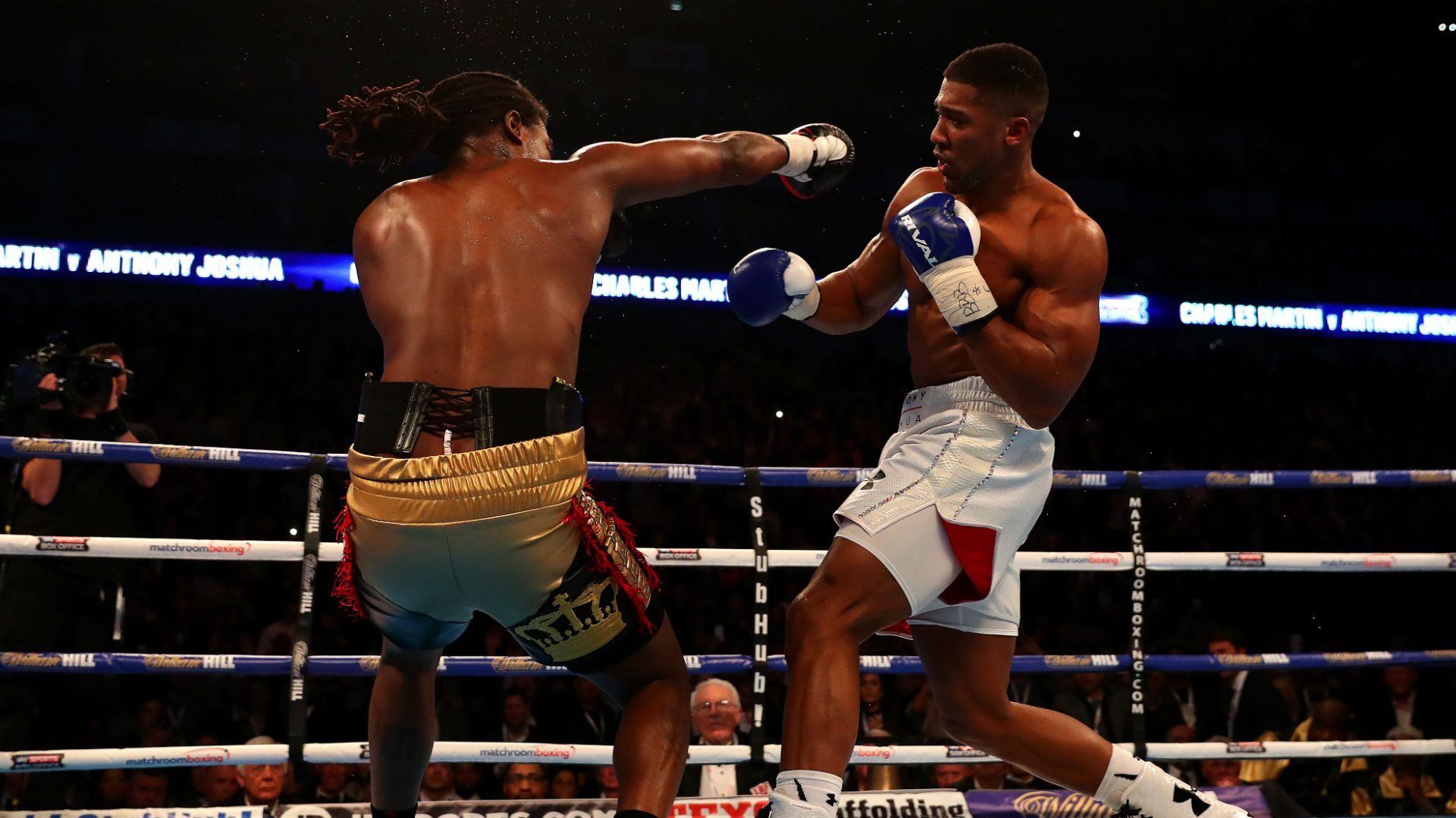 Recapping Anthony Joshua's heavyweight world title fights