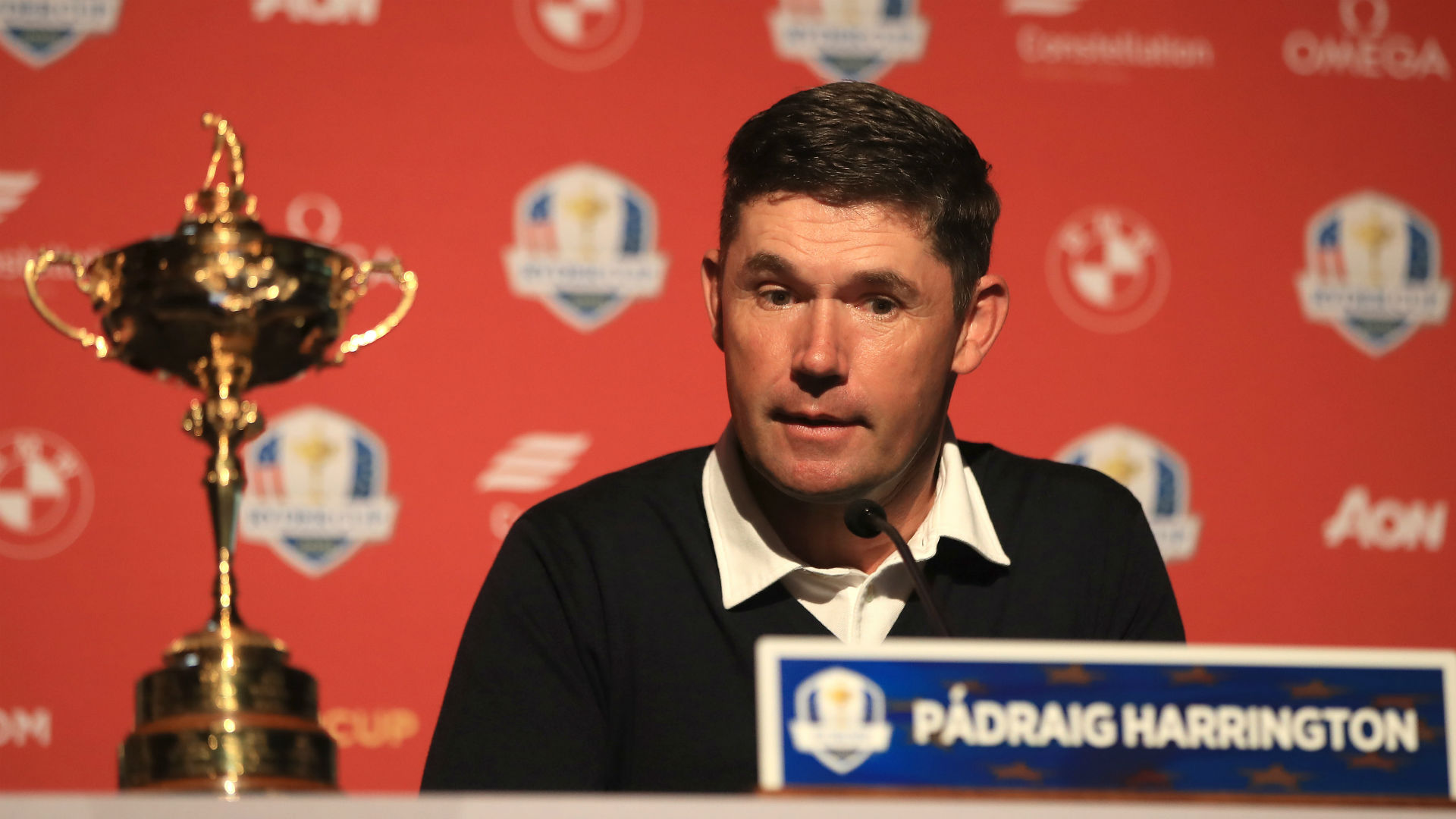 Harrington expects Ryder Cup players to be in peak condition after U.S. Open