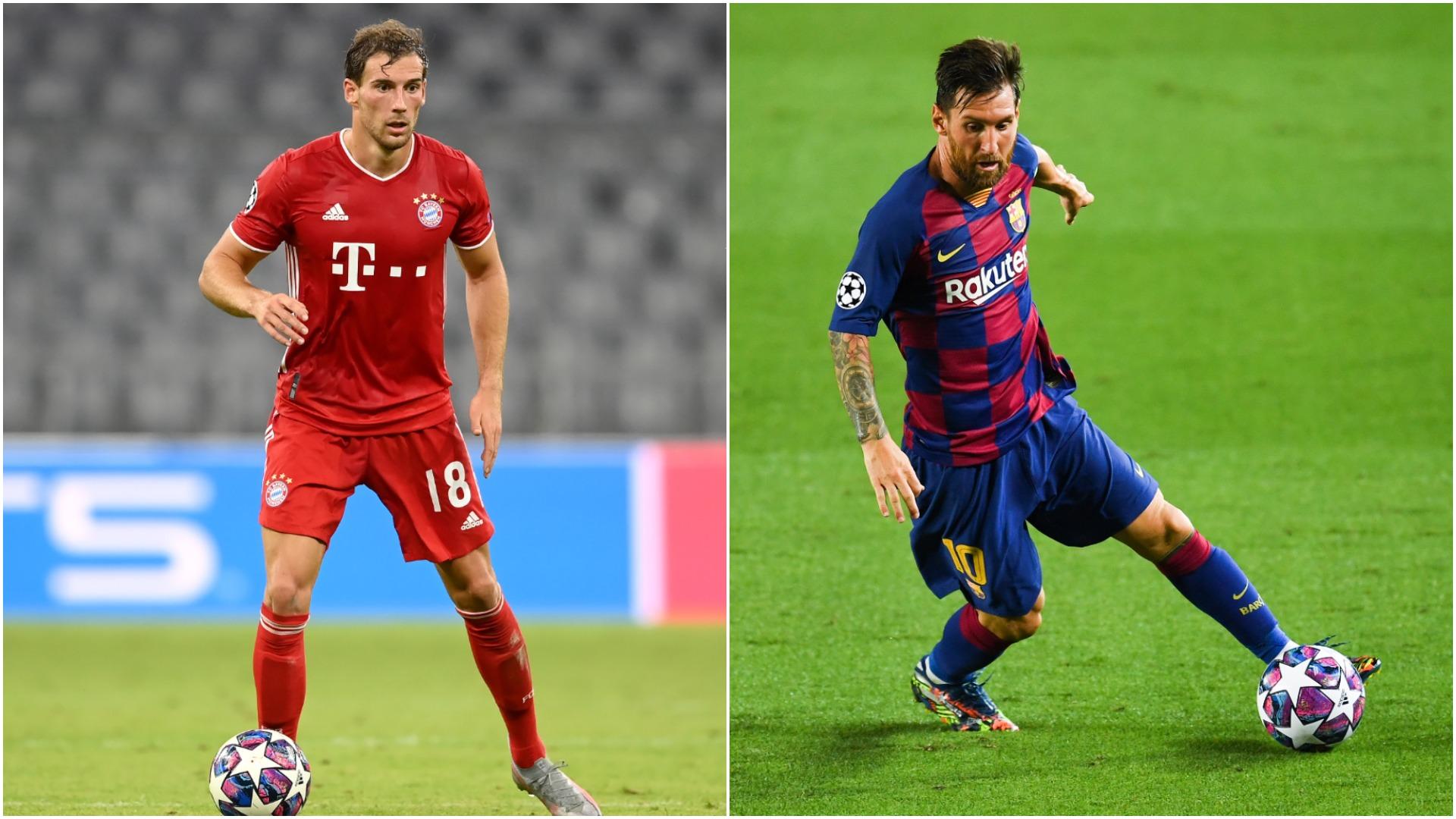 Goretzka relishing Messi challenge after Ronaldo tests