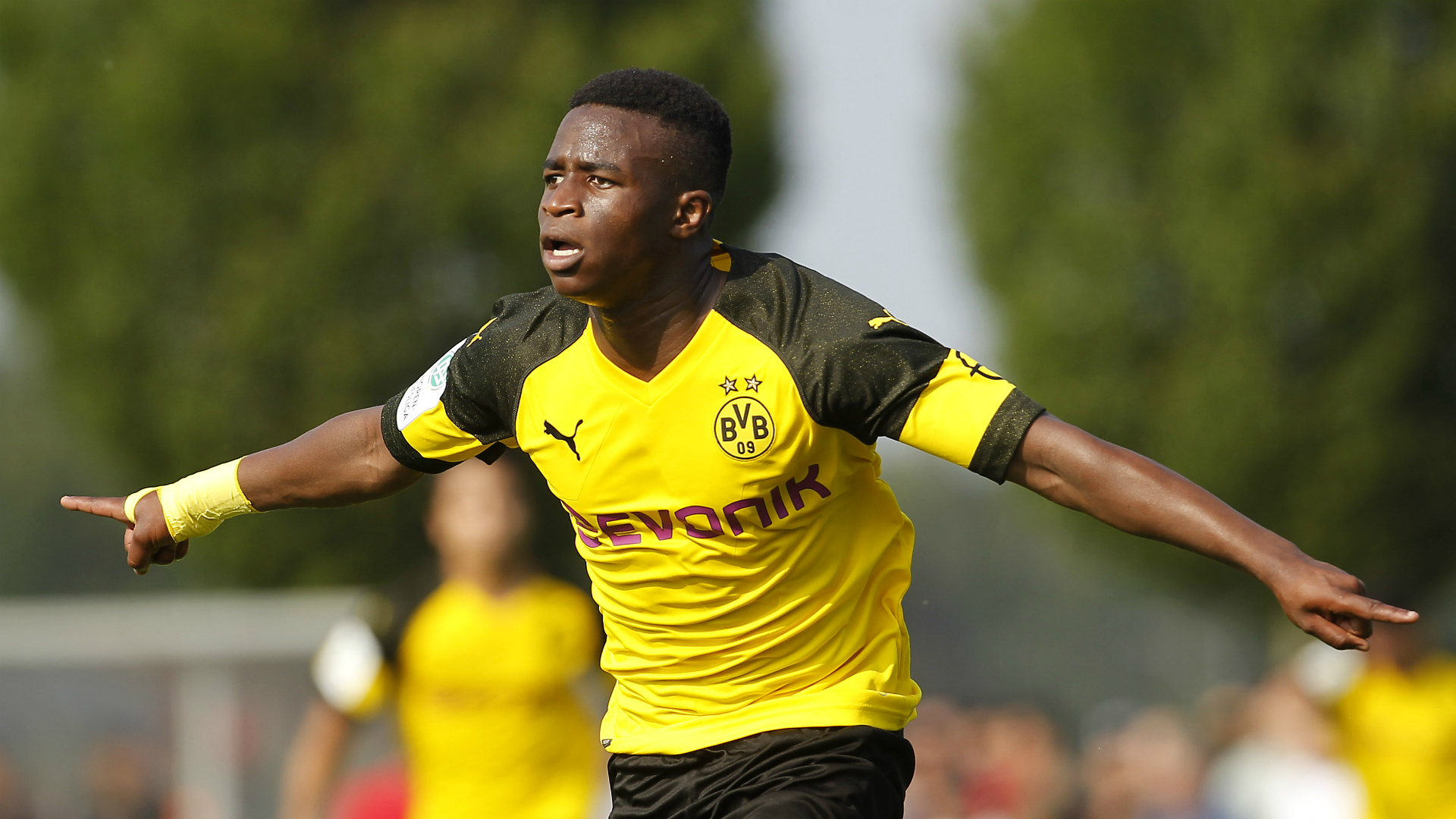 Haaland says Dortmund boy wonder Moukoko is 'a lot better than I was'