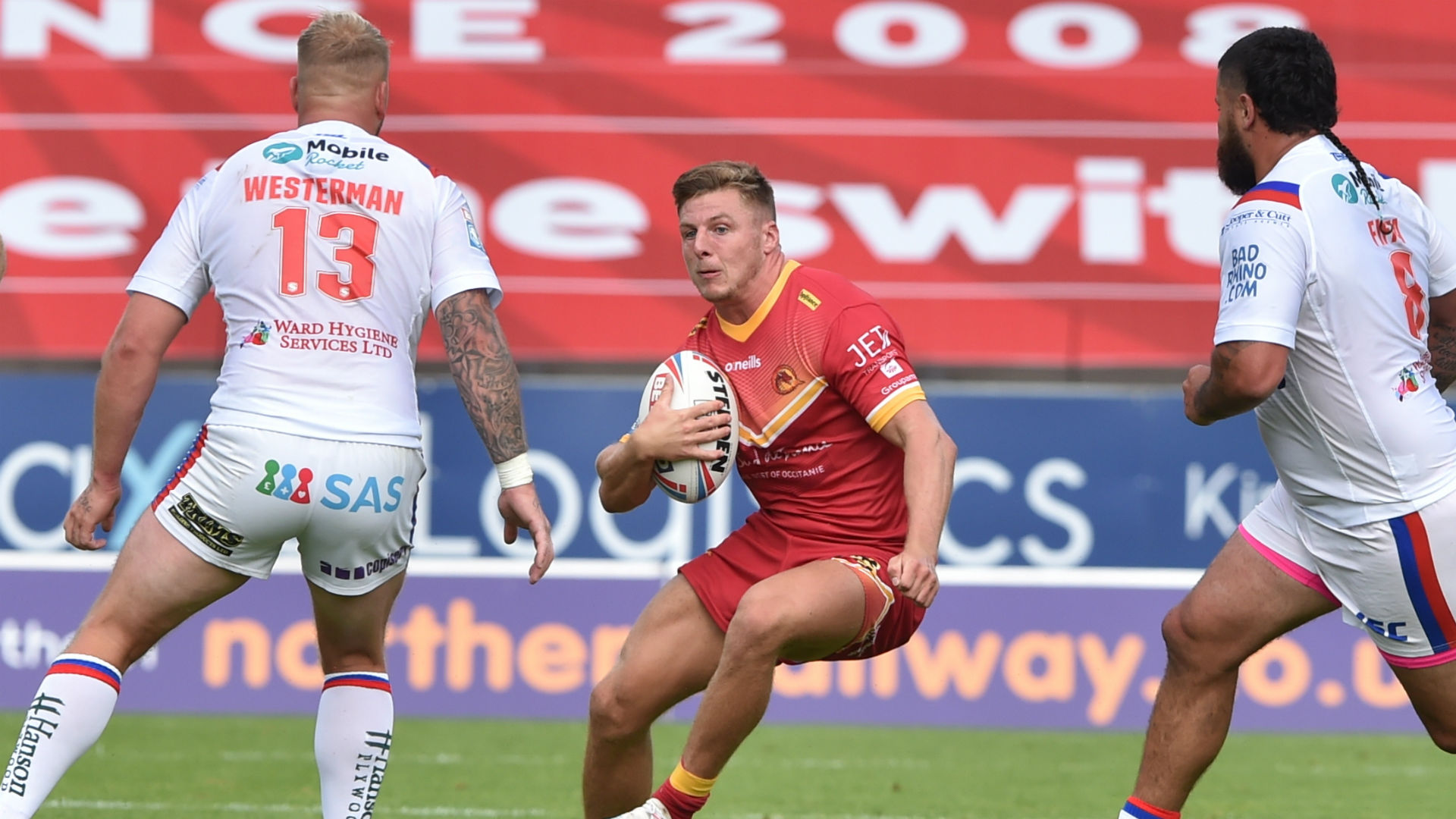 Davies and Whitley hat-tricks see Dragons batter Wakefield in 10-try rout