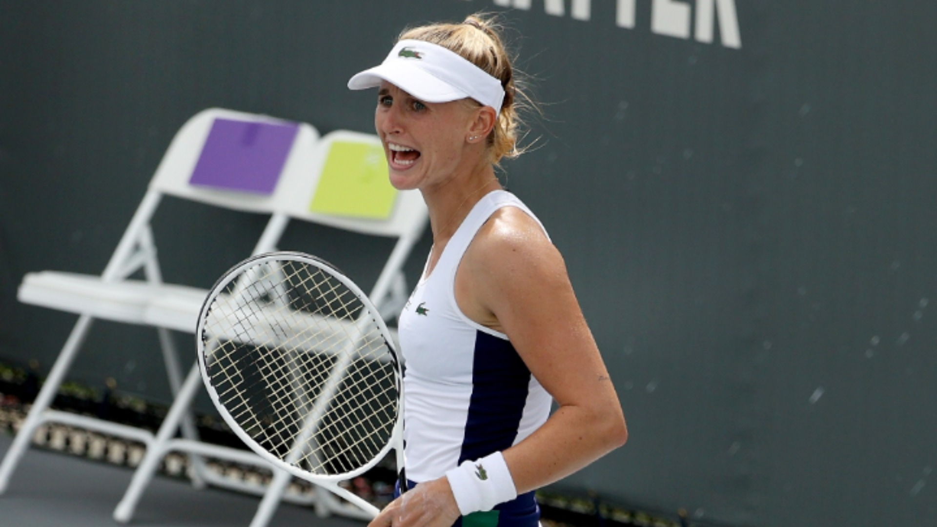 Teichmann to face Brady in Lexington final as Rogers fails to build on Serena scalp