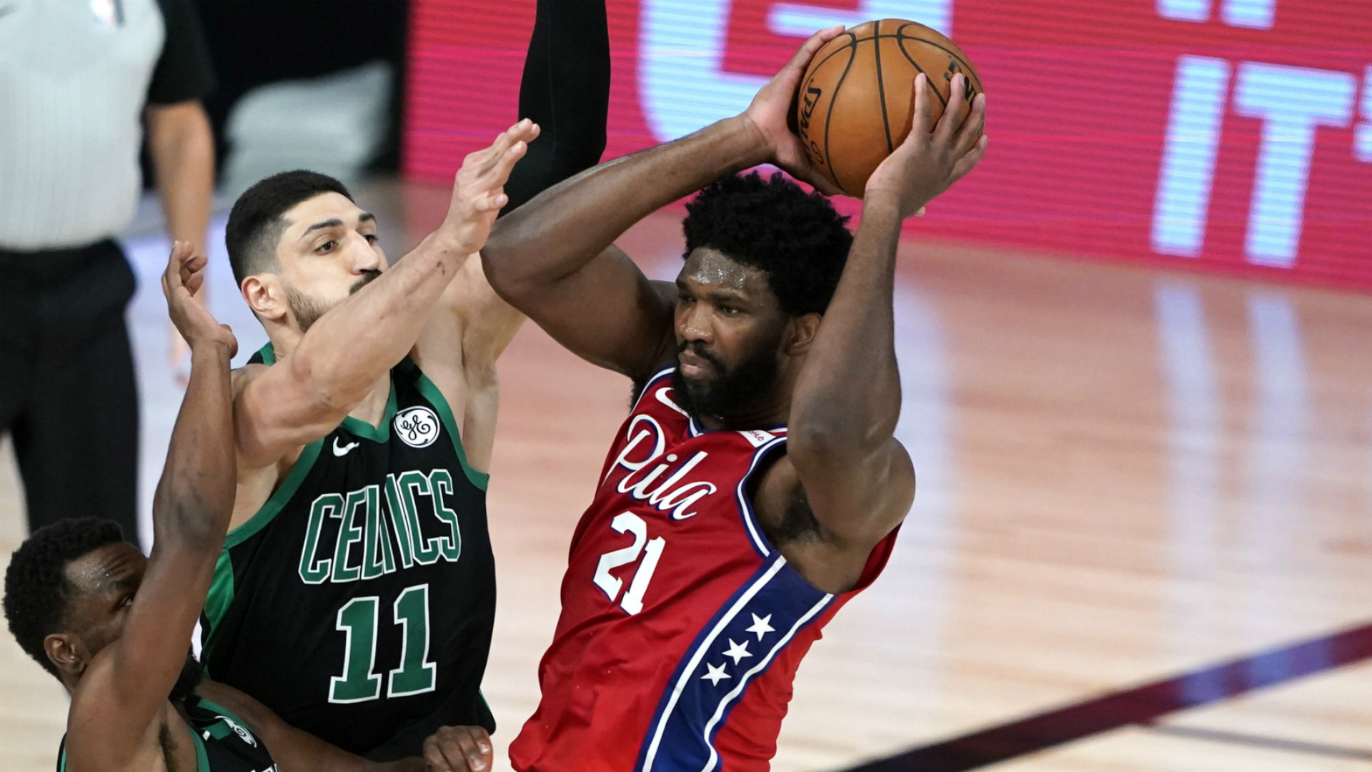 76ers' Embiid demands more from himself after game-one loss to Celtics