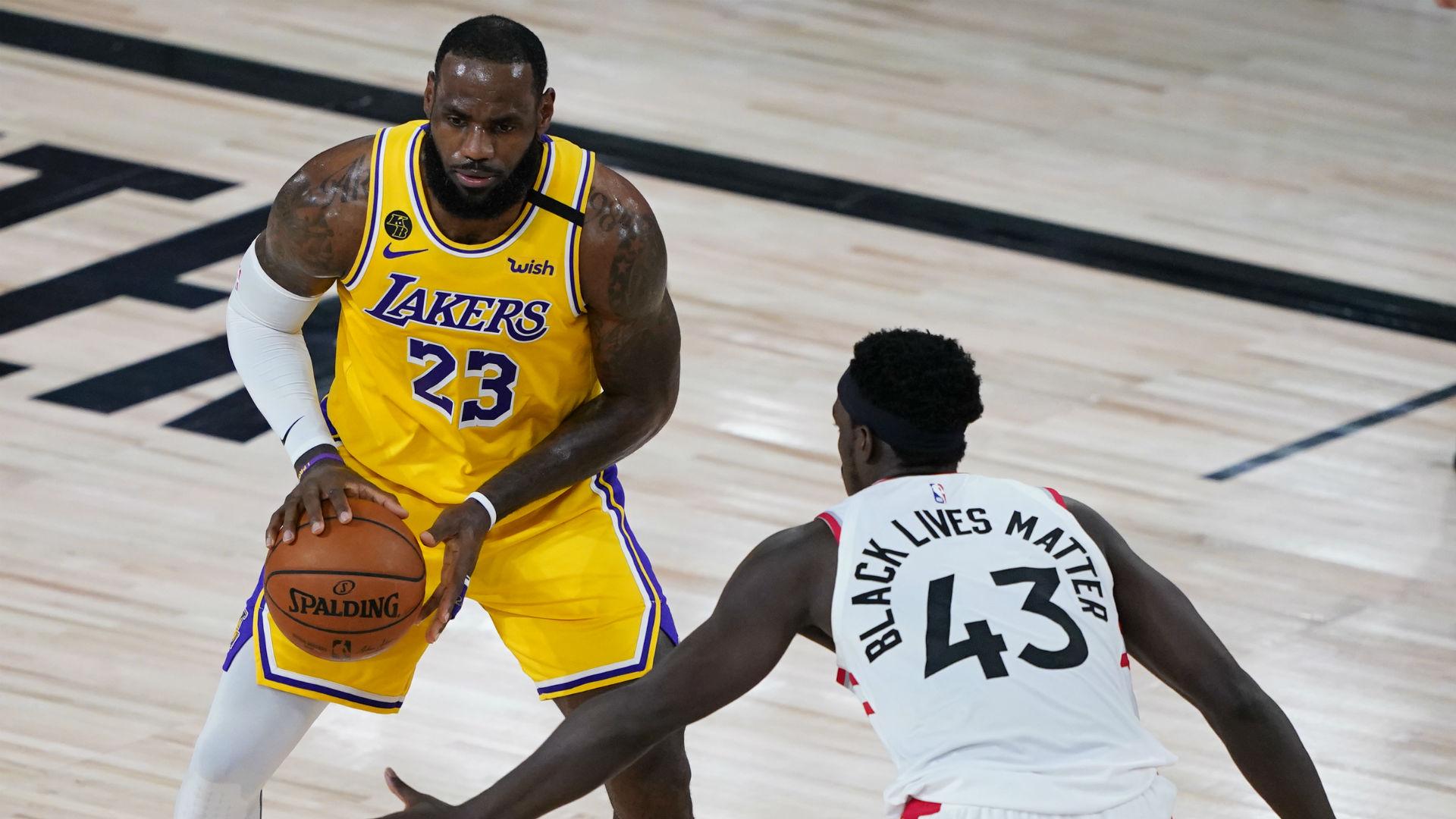 LeBron: Kawhi-less Raptors still one of the NBA's best