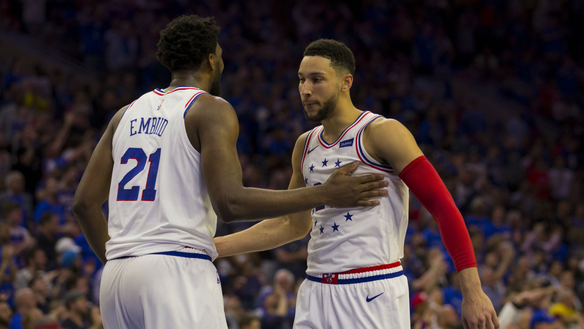 Philadelphia 76ers 'not looking to trade' Simmons or Embiid